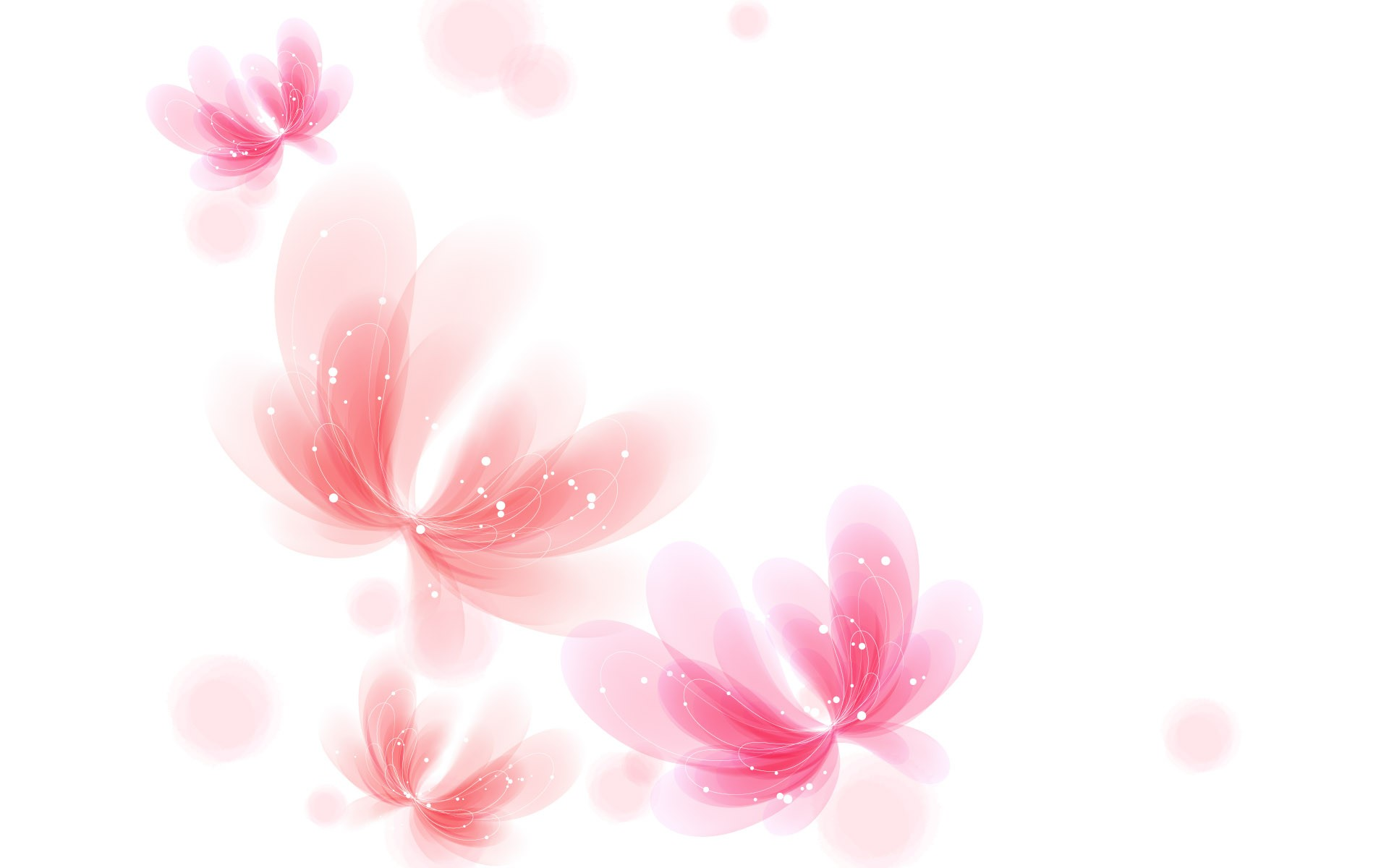 ... Pink and White Wallpaper ...