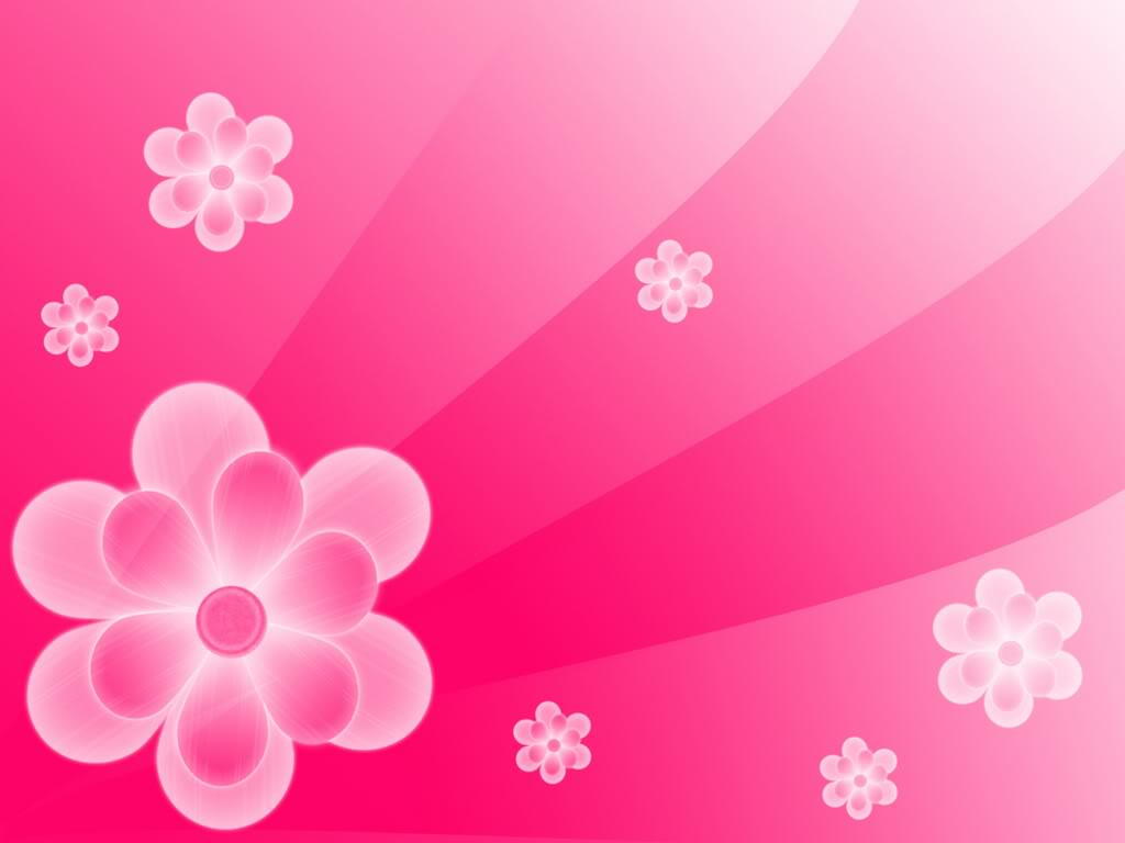 Pink Flowers Background Wallpaper 1024x768 4929