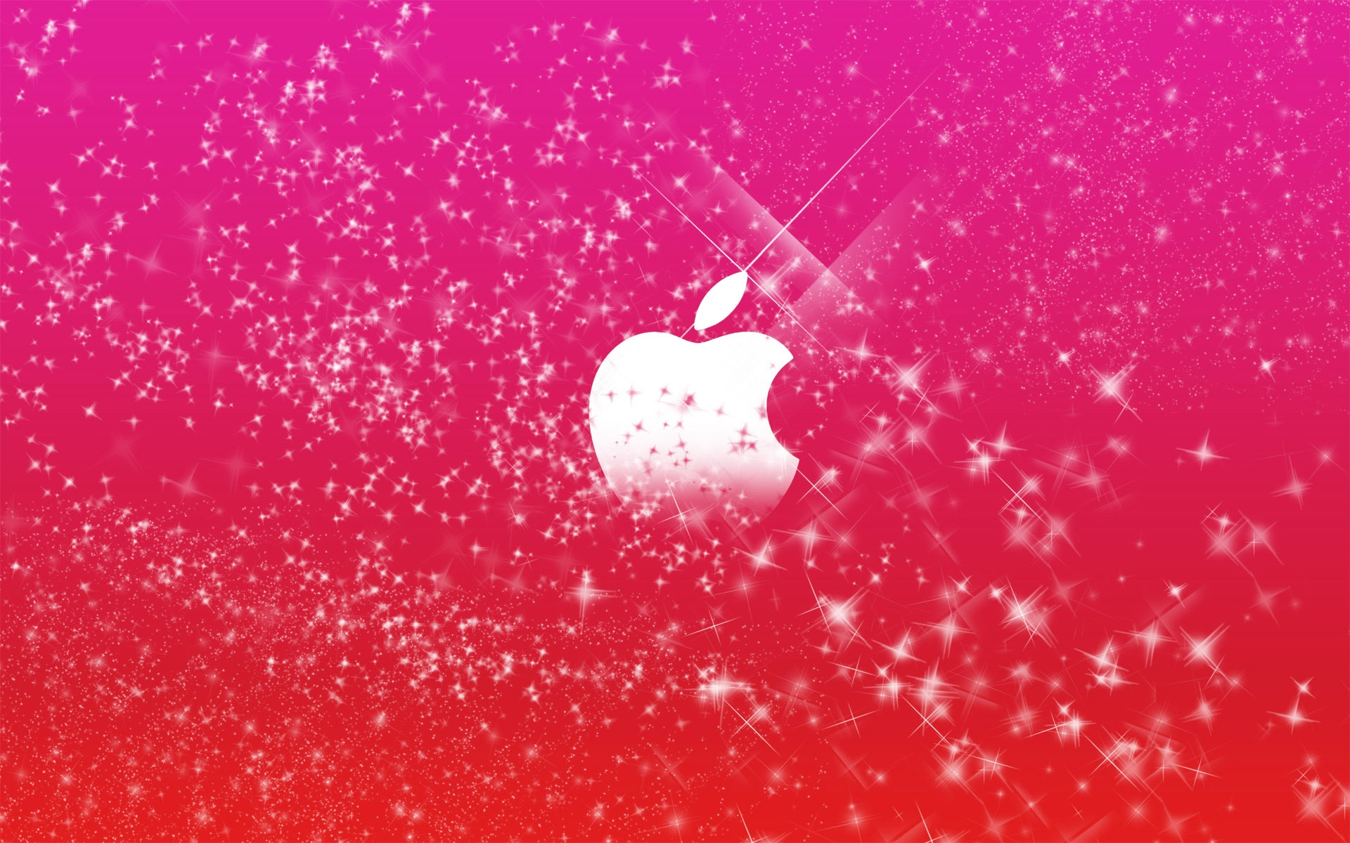 Description: Download Apple Logo in Pink Glitters HD & Widescreen Apple Wallpaper ...