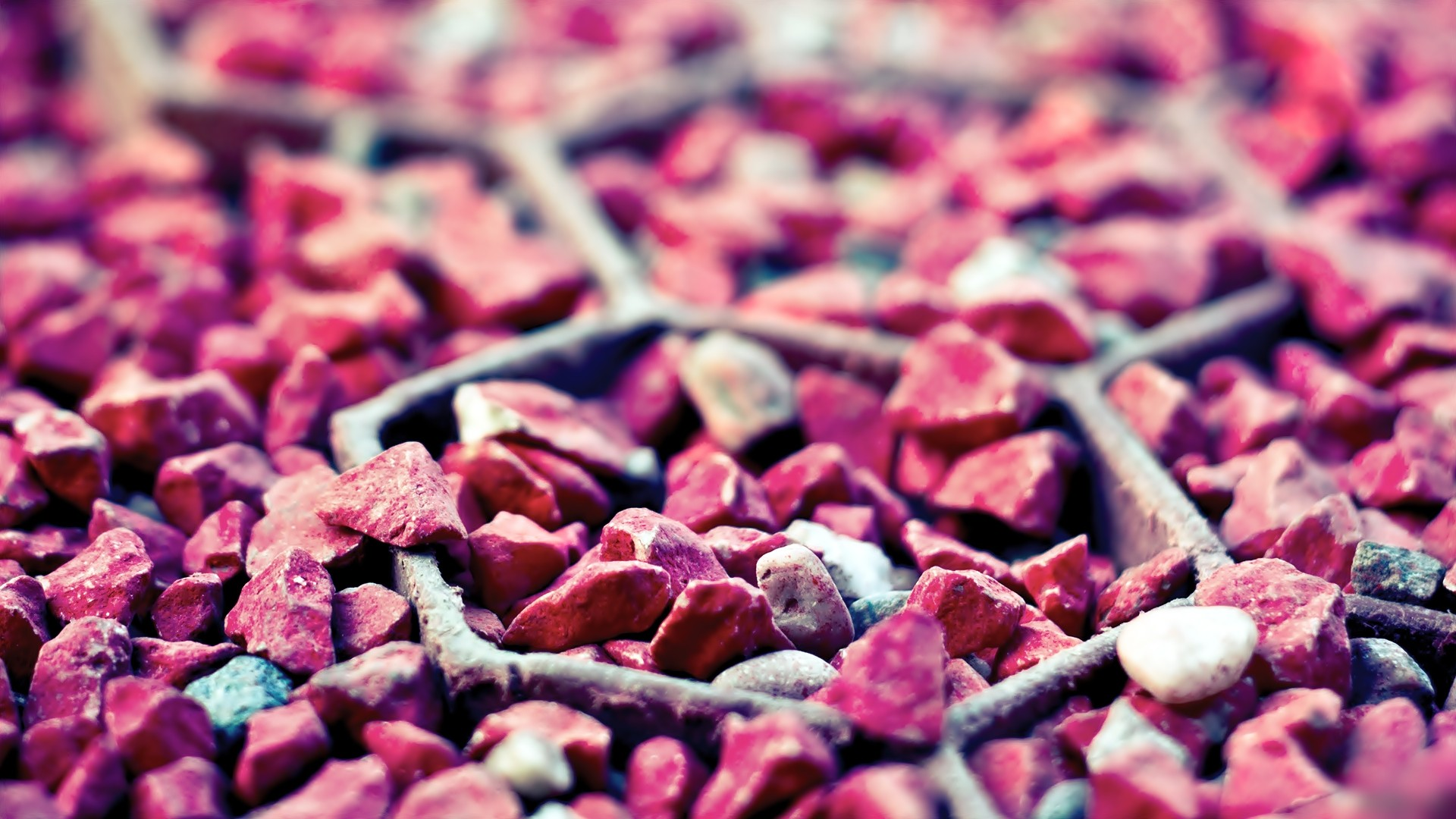 Pink Pebbles Wallpaper