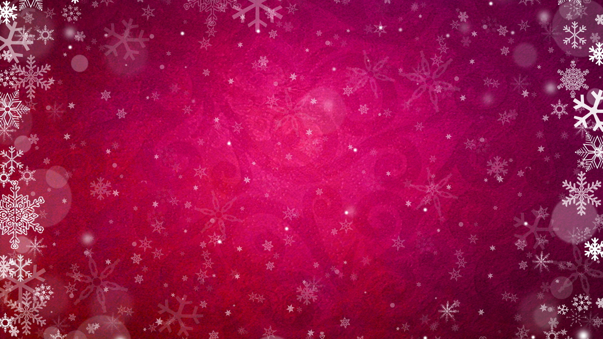 Pink Snowflake Wallpaper ...