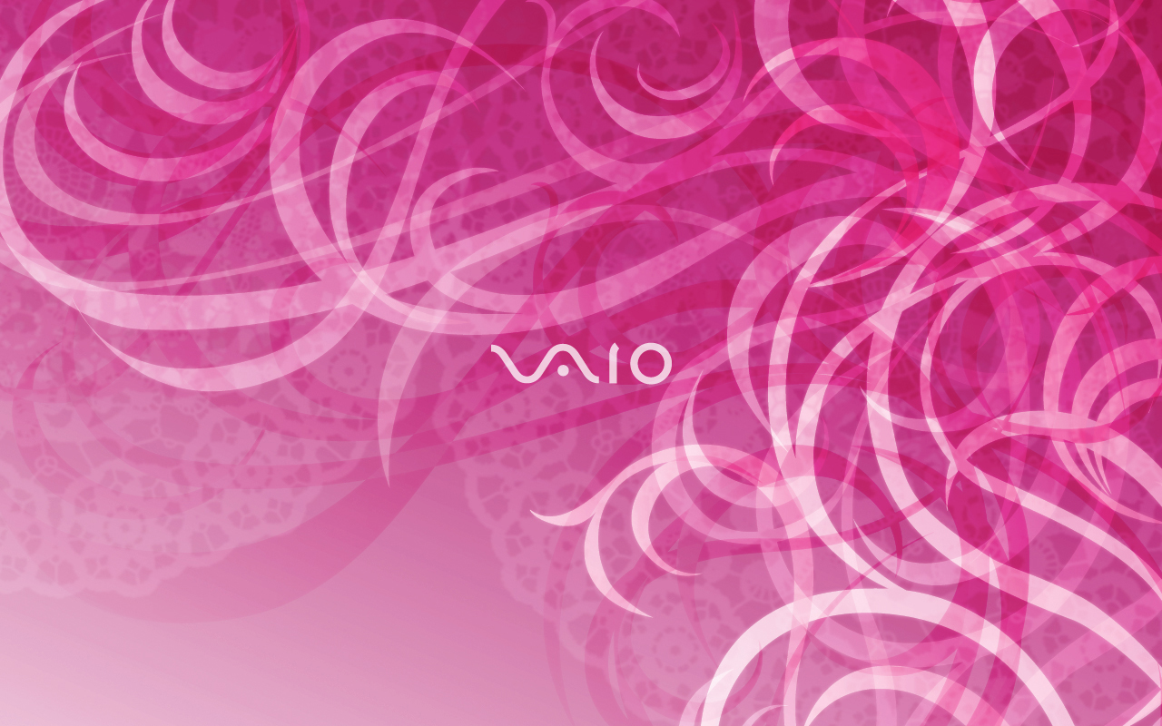 Pink Sony Wallpaper