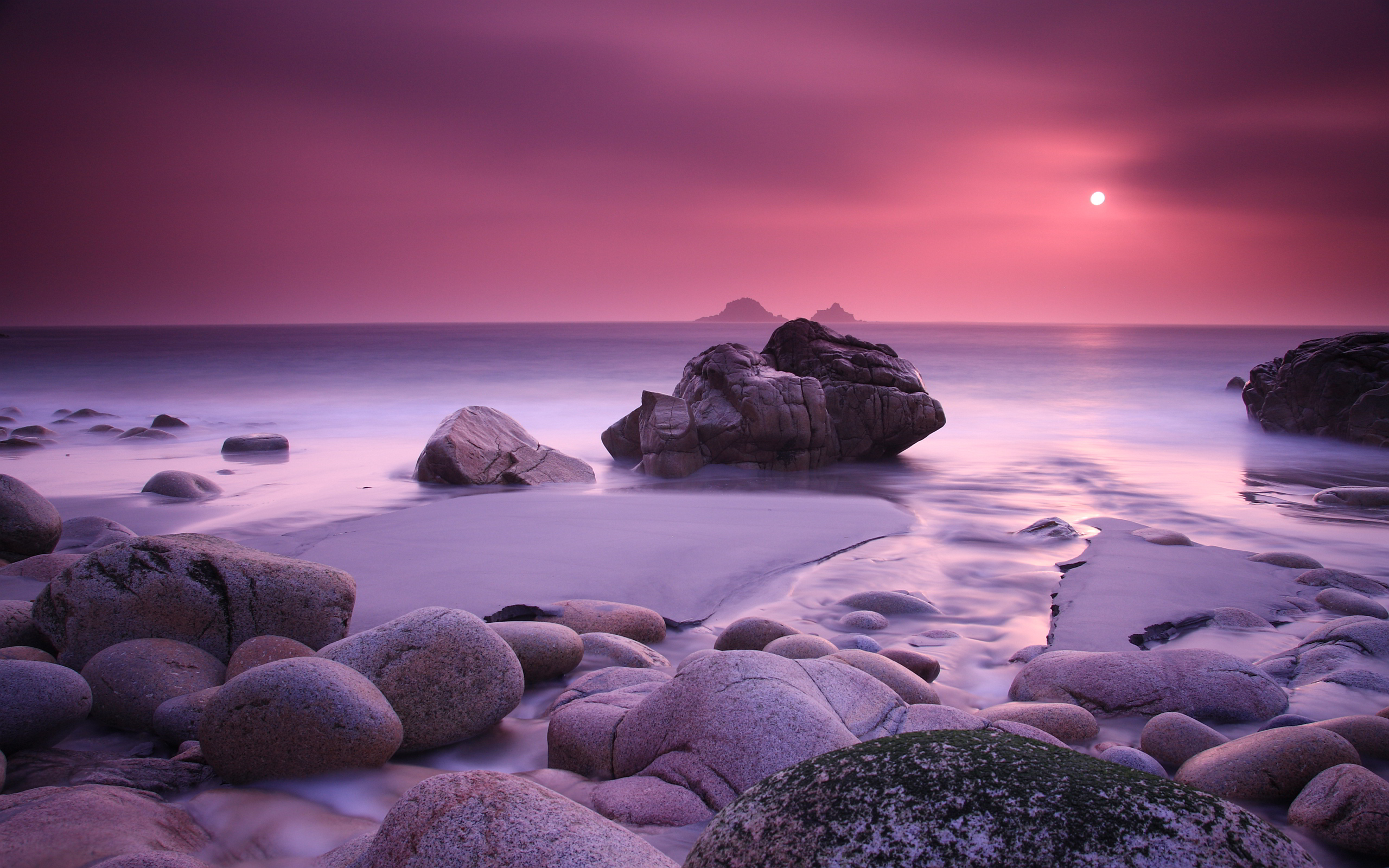 Pink Sunset Coast