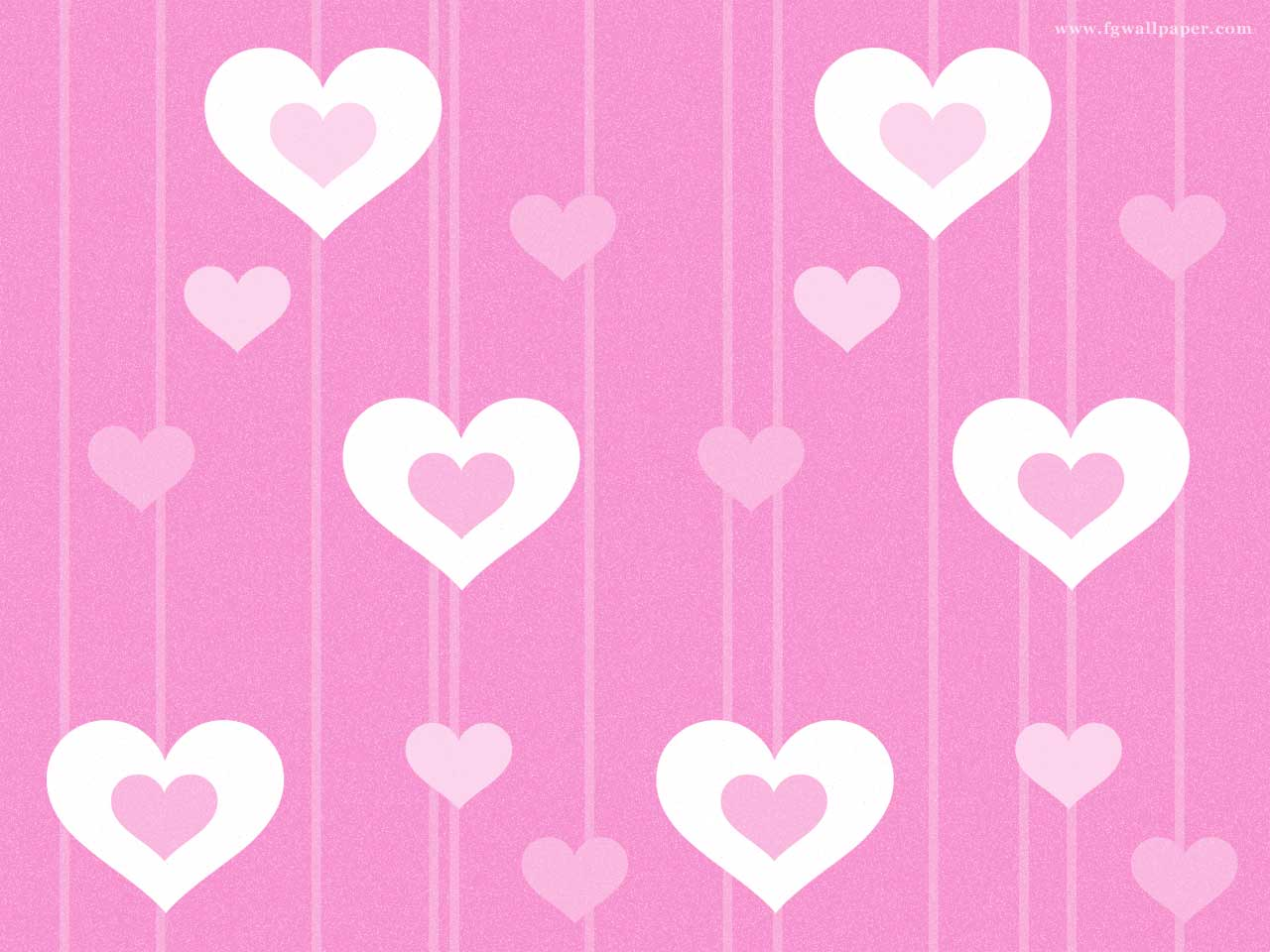 Pink white heart