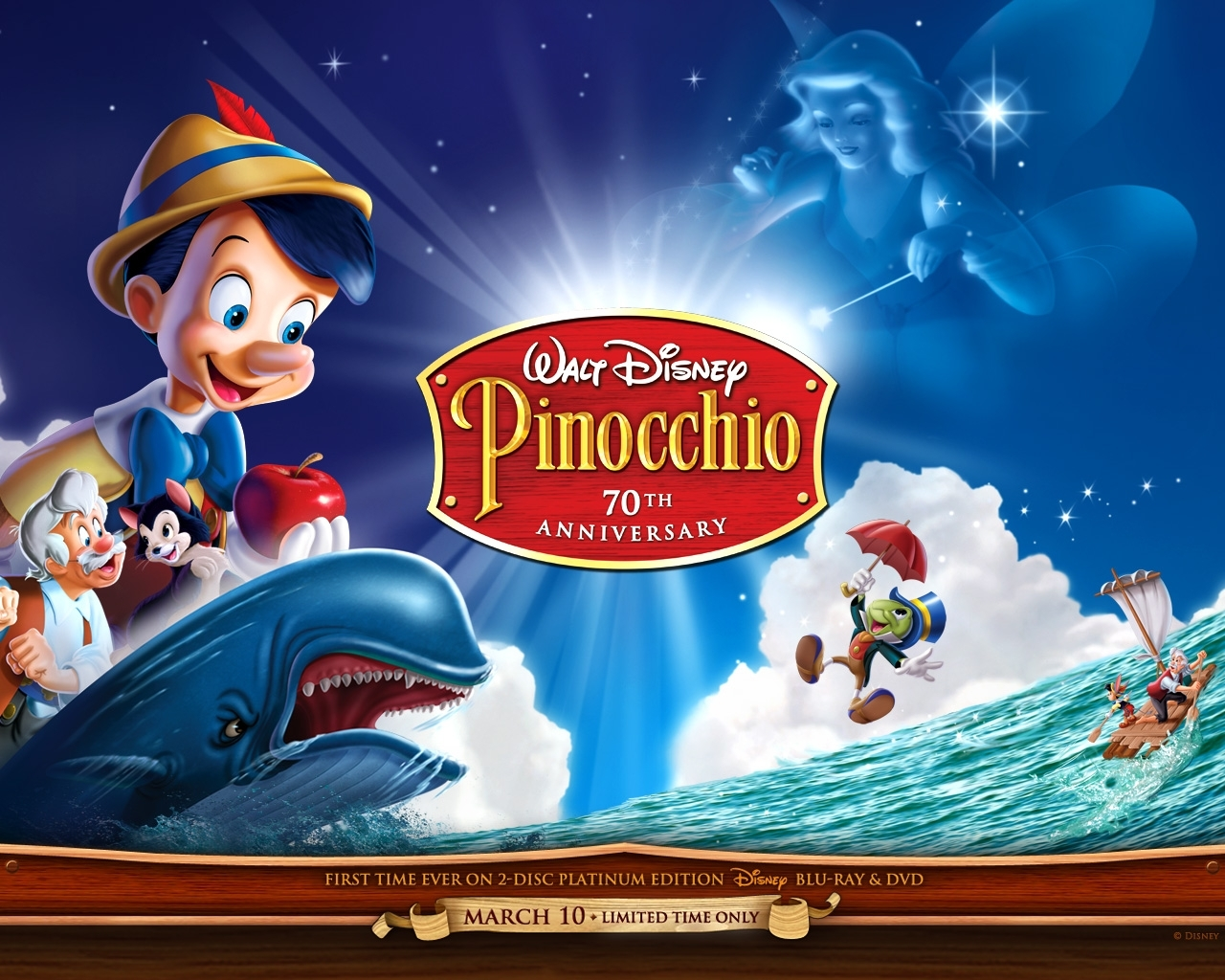 Pinocchio - classic-disney Wallpaper