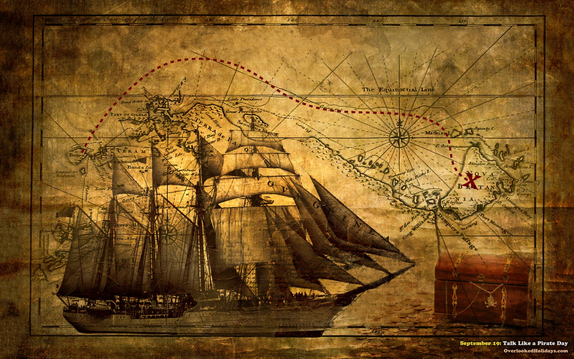 Outstanding Free Pirate Ship Wallpaper Downloads 1920x1200px