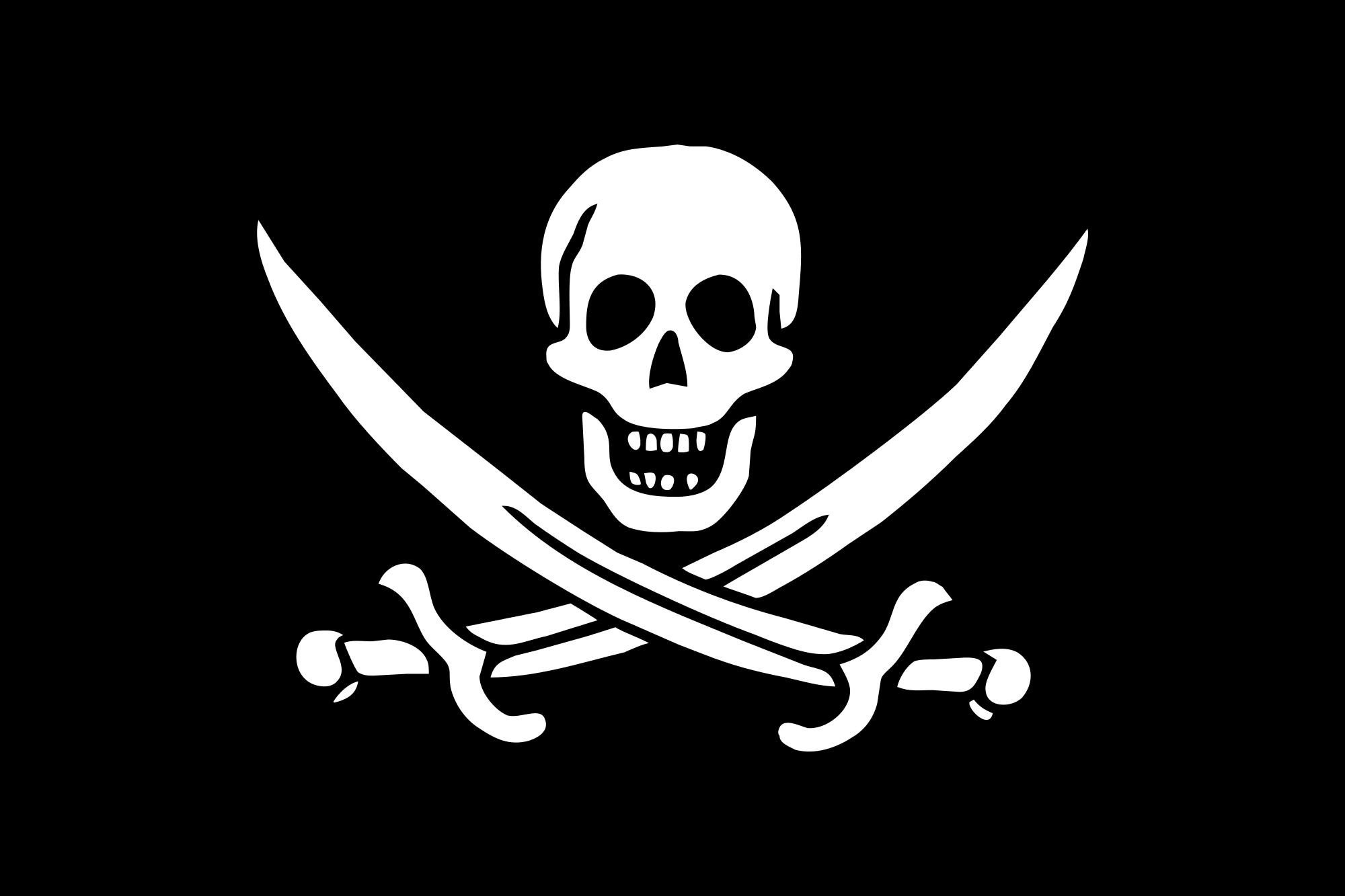 Pirate Flag of Jack Rackham.svg