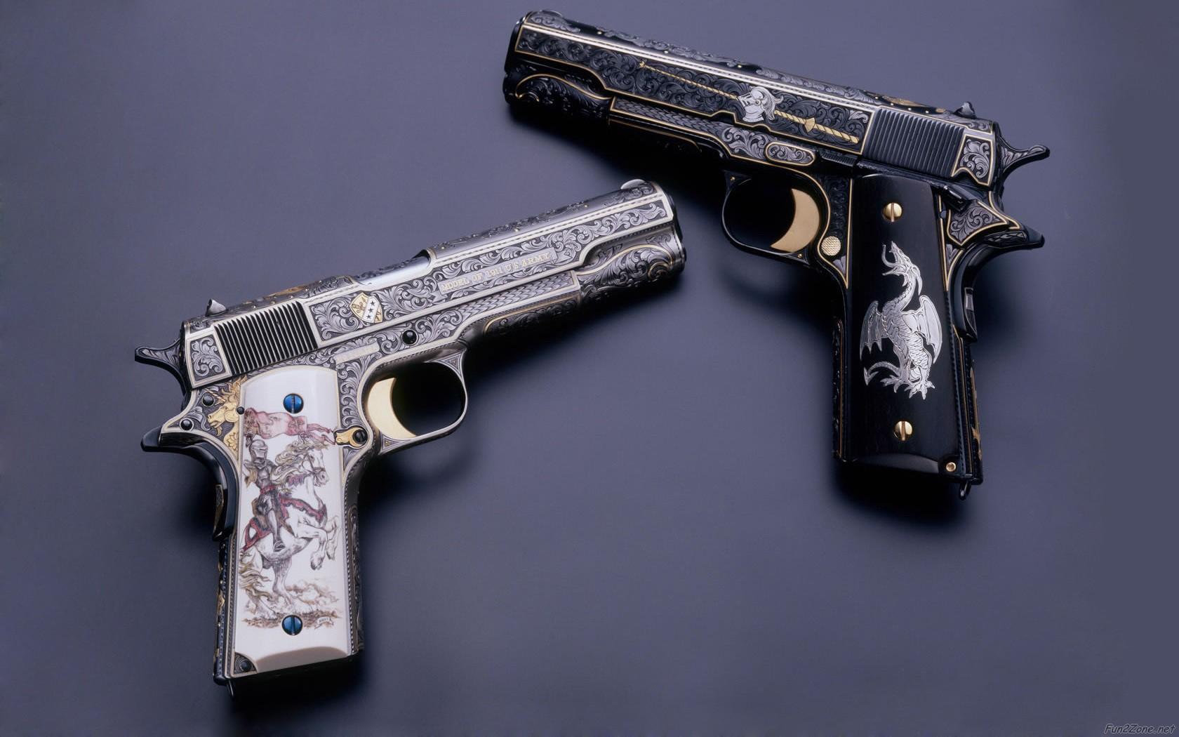 Pistol Wallpaper HD