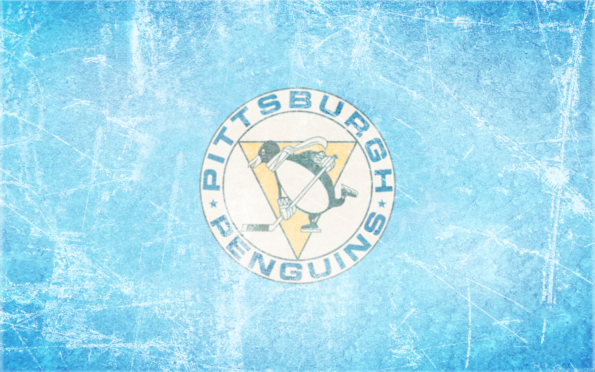 Pittsburgh Penguins Ice Wallpaper (by ~ DevinFlack ) 1920 X 1200