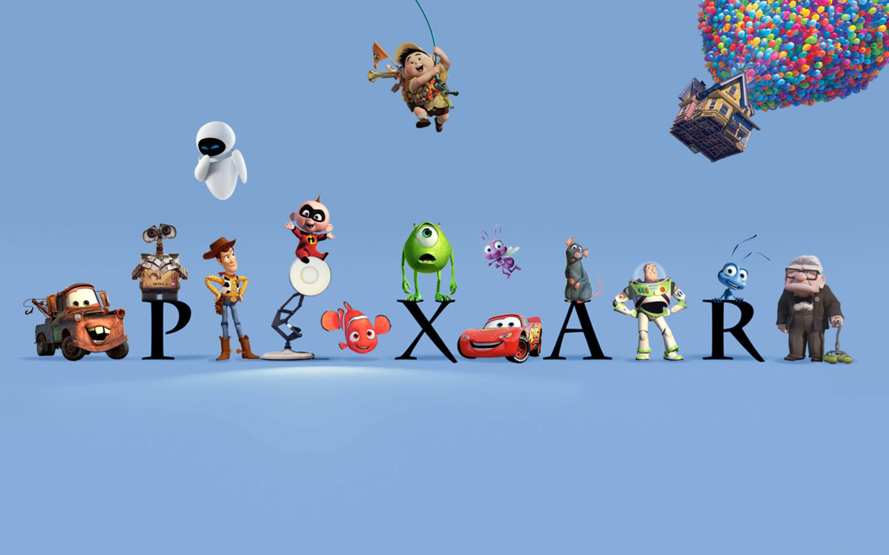 Your Free 1280 by 800 Pixar Wallpaper … | Take Five a Day