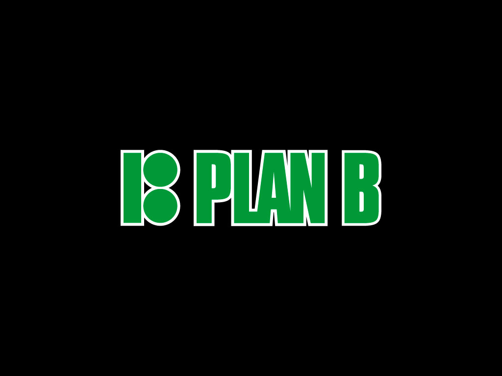 green logo plan b wallpaper
