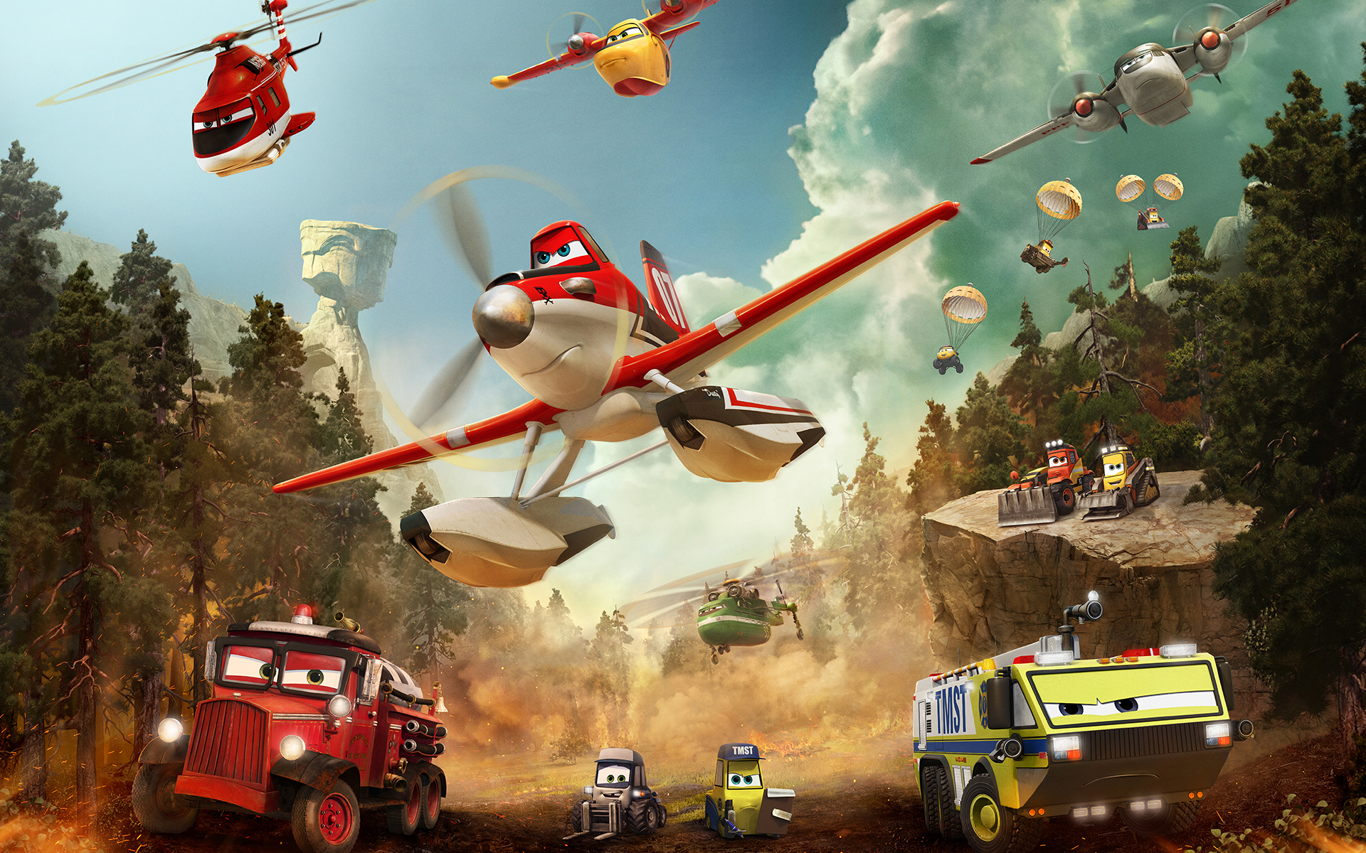 Planes Fire and Rescue Wallpaper