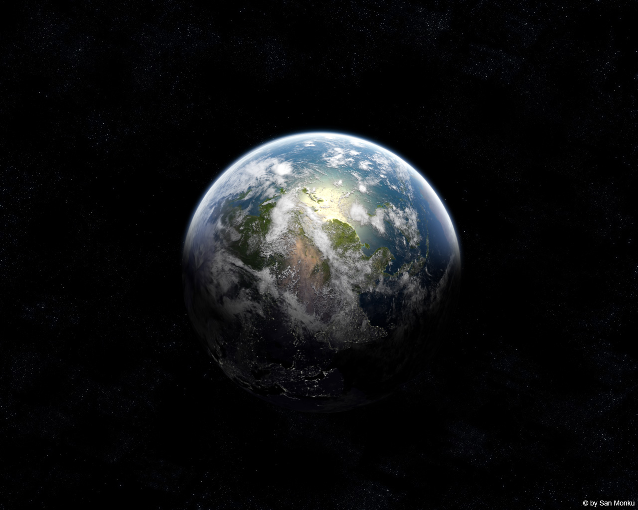 The GREY planet Truecolour image reveals what Earth