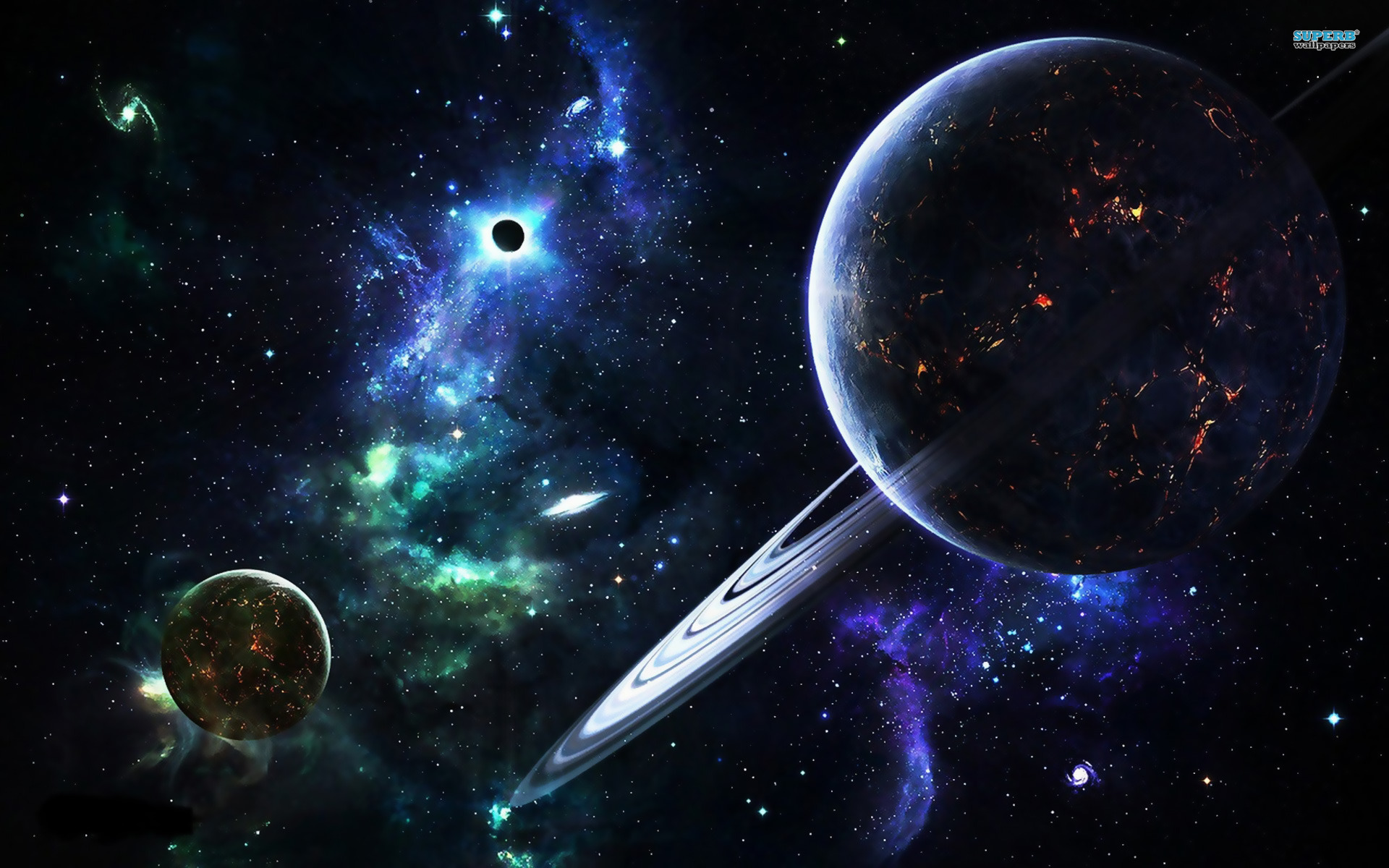 Planet Galaxy Wallpaper Hd 1920x1200px