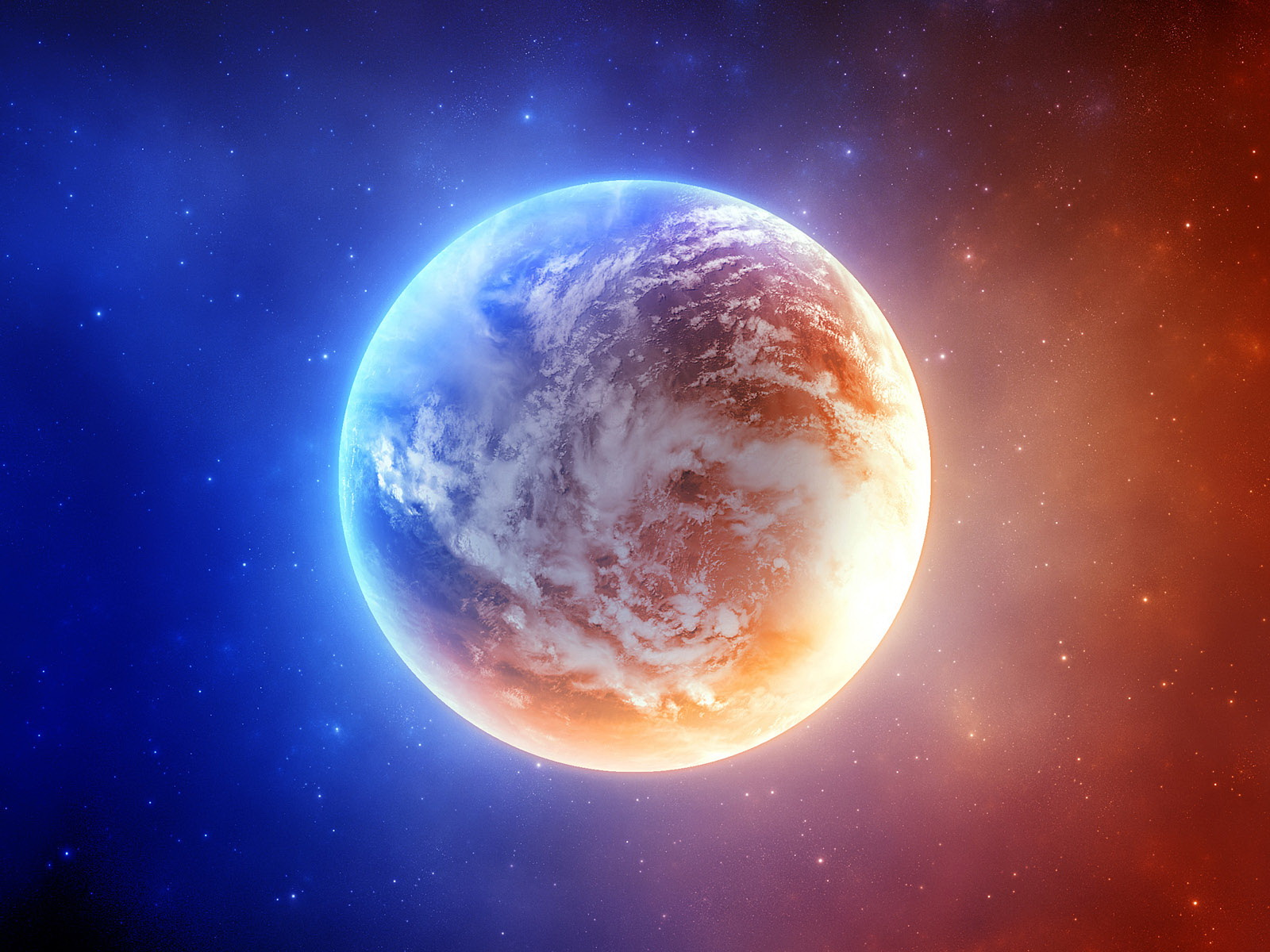 Amazing Planet Wallpaper