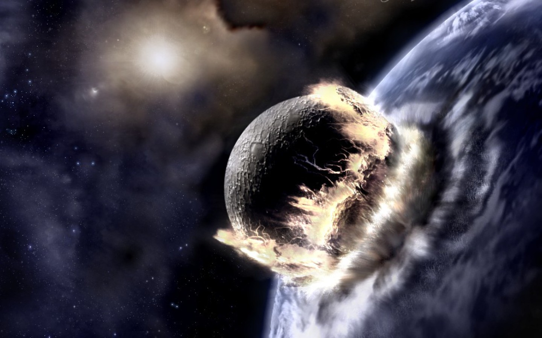 Planetary Collision