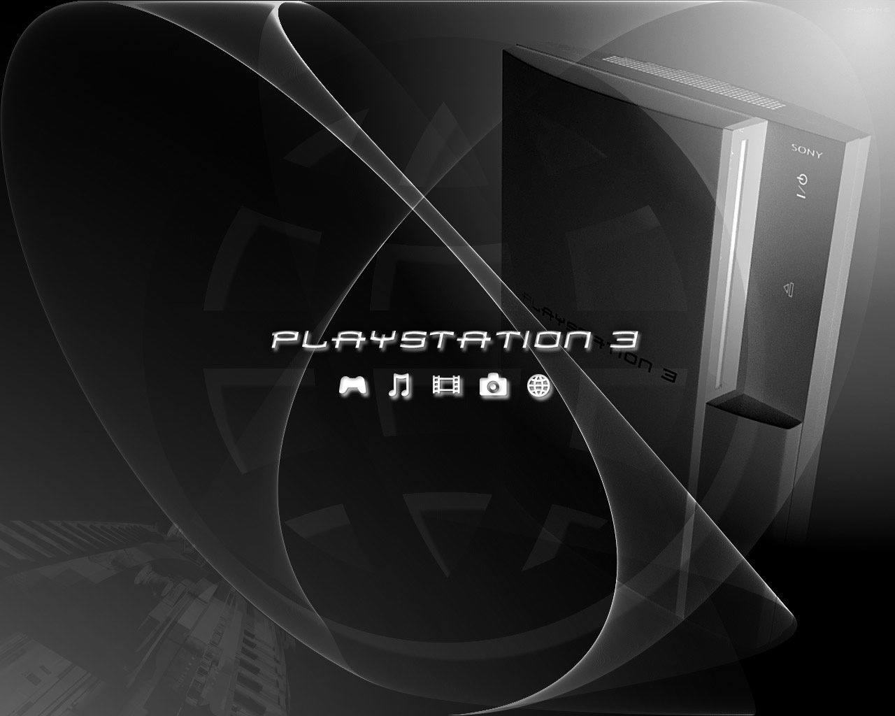 1280x1024 Playstation 3 wallpaper