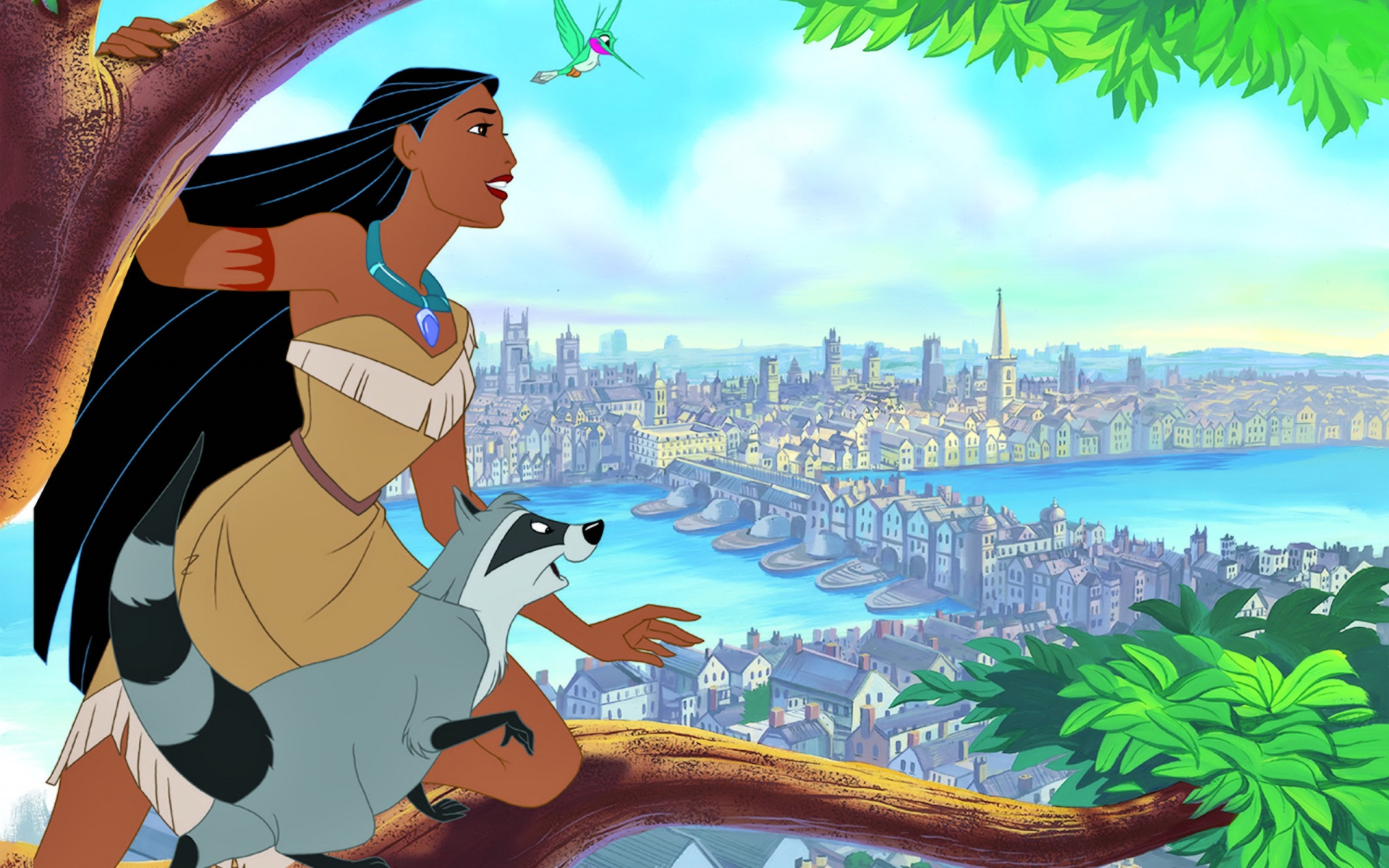 HD Wallpaper | Background ID:239636. 1920x1200 Cartoon Pocahontas