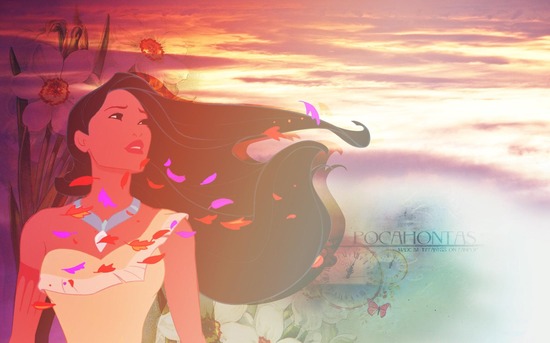 Widescreen resolutions (16:10): 1280x800 1440x900 1680x1050 1920x1200. Normal resolutions: 1024x768 1280x1024. Wallpaper Tags: princess disney pocahontas