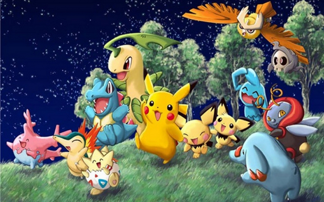 pokemon backgrounds 5 Best Wallpaper