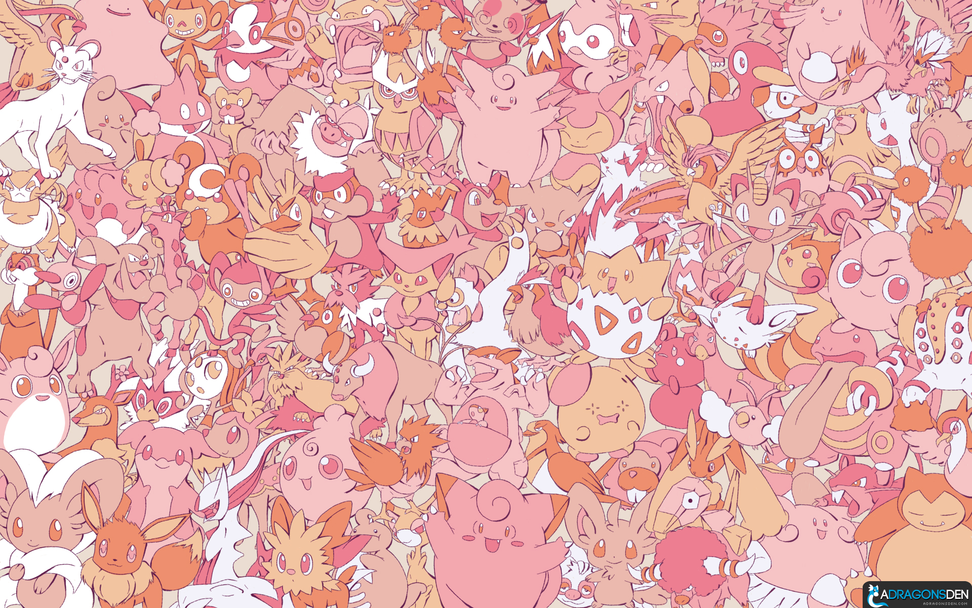 Every Normal pokemon wallpaper by LVStarlitSky
