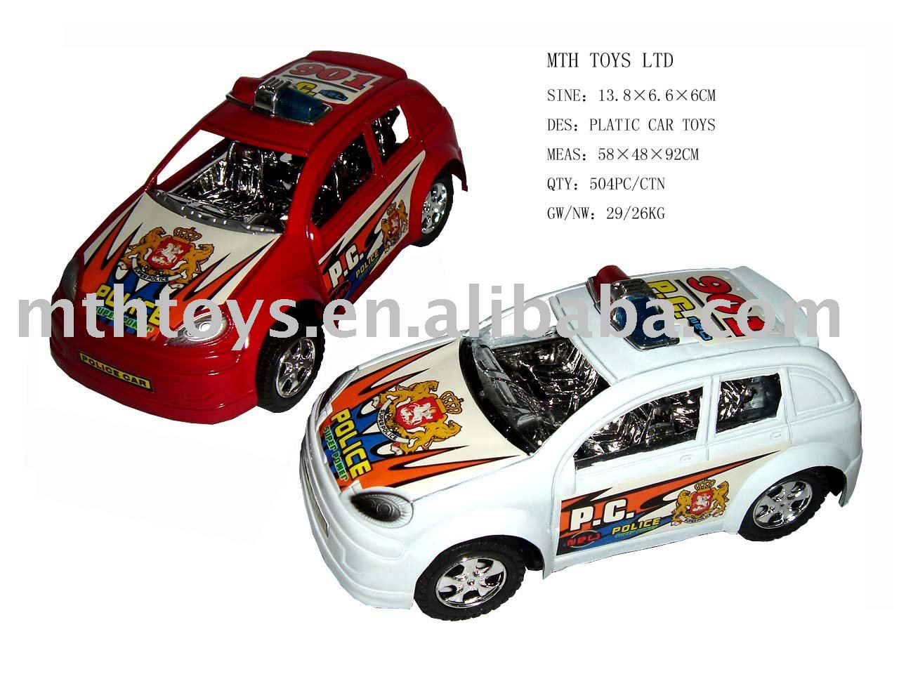 plastic frictional / pull back police toy car vehicle toy, View toy car, MTHTOYS Product Details from Shantou Meihui Toys Co., Ltd. on Alibaba.com