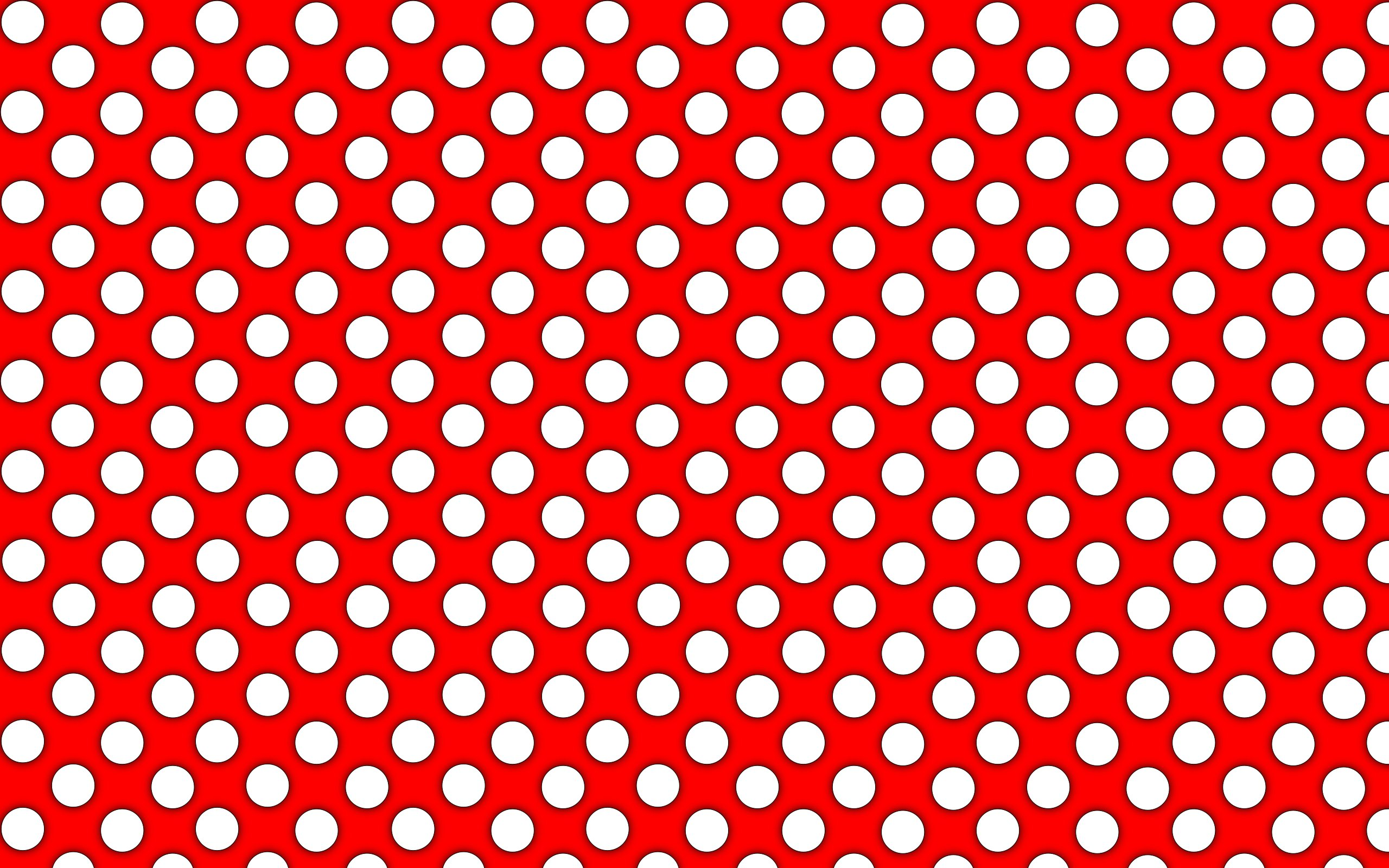 Hd Wallpaper Polka Dot Card Stock: Wallpapers for Gt Red Polka Dots Background 2560x1600px