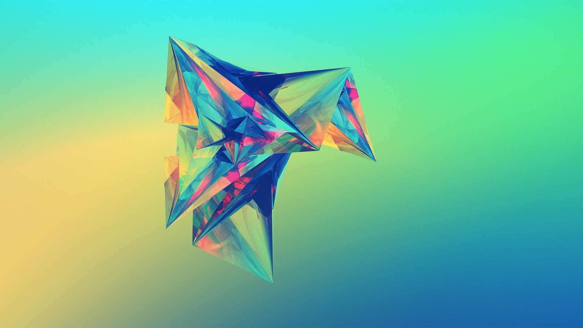 Polygon wallpaper 1920x1080 74226