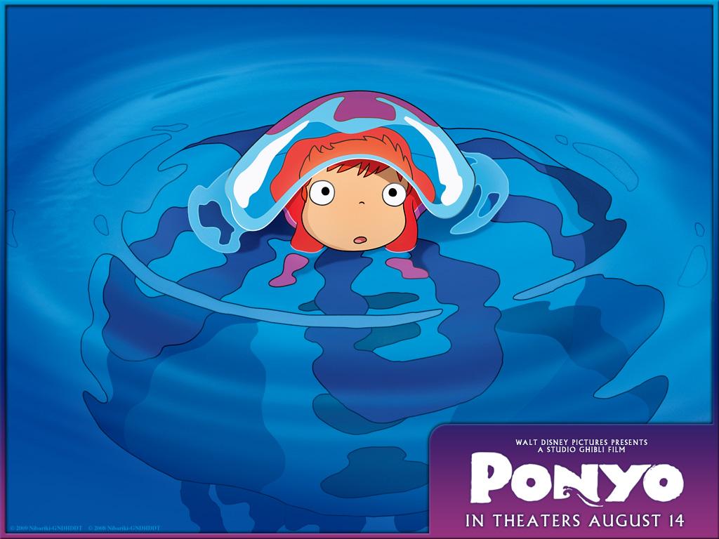 Ponyo Wallpaper