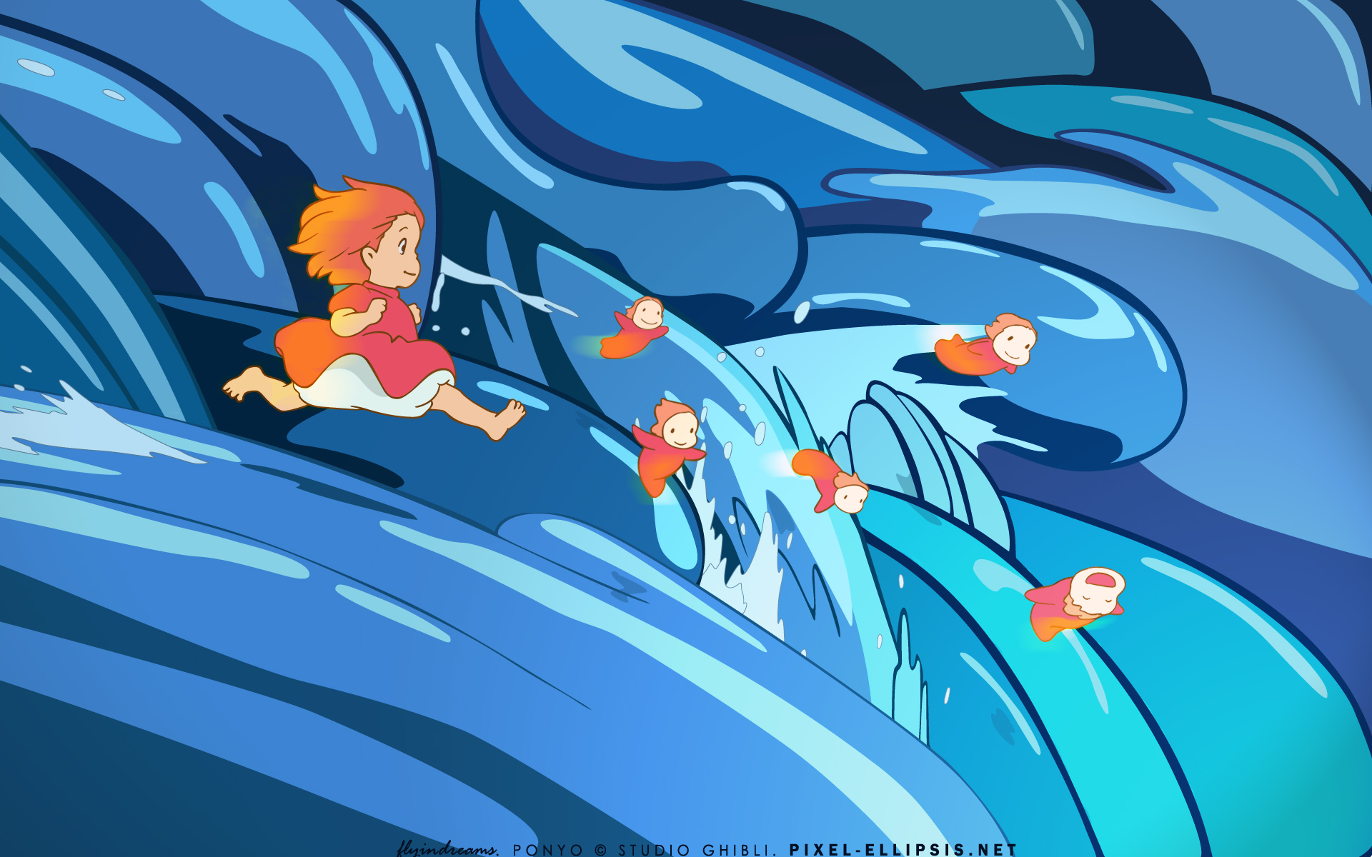 HD Wallpaper | Background ID:420274. 1920x1200 Movie Ponyo