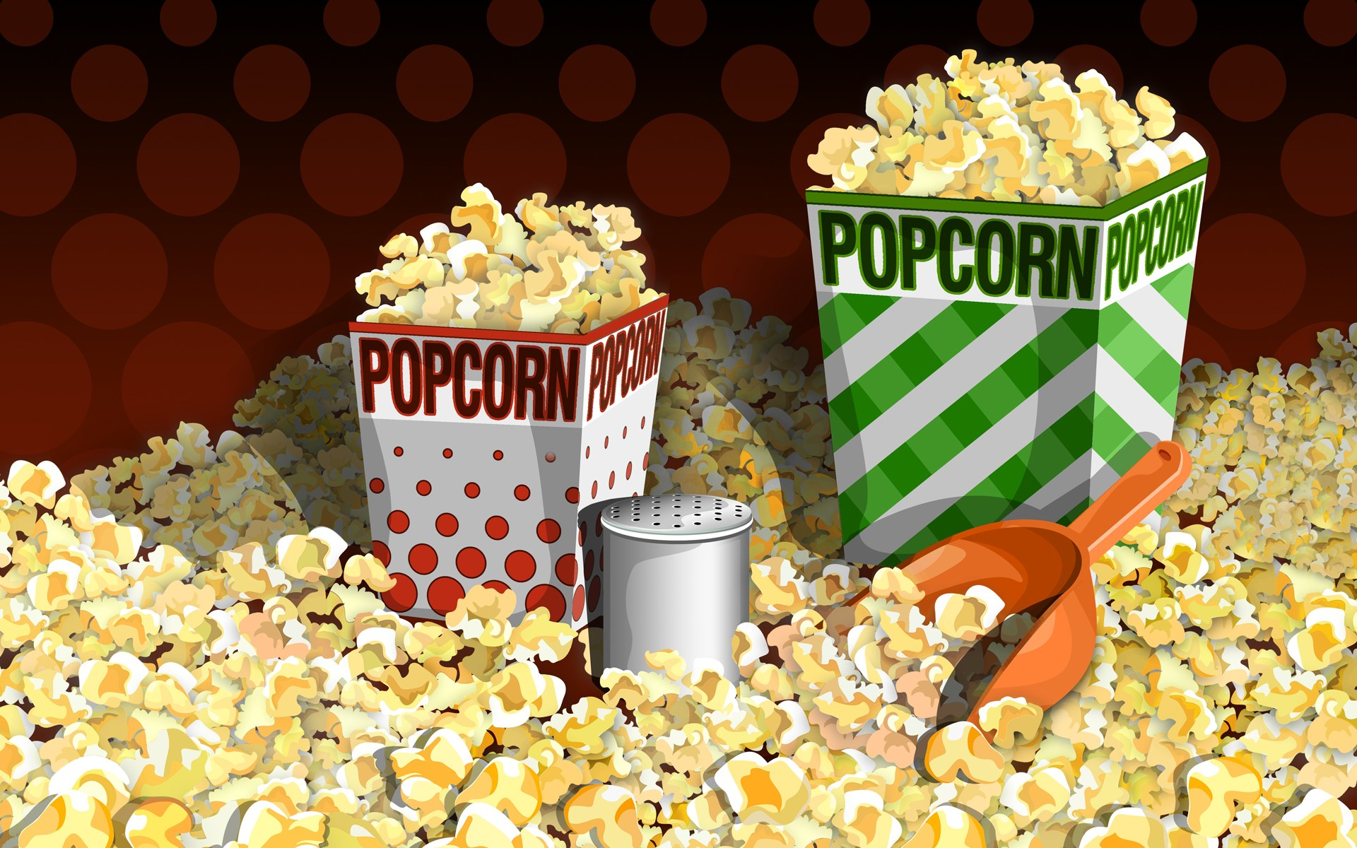 HD Wallpapers PSD Food illustrations 3123 popcorn illustration popcorn picture