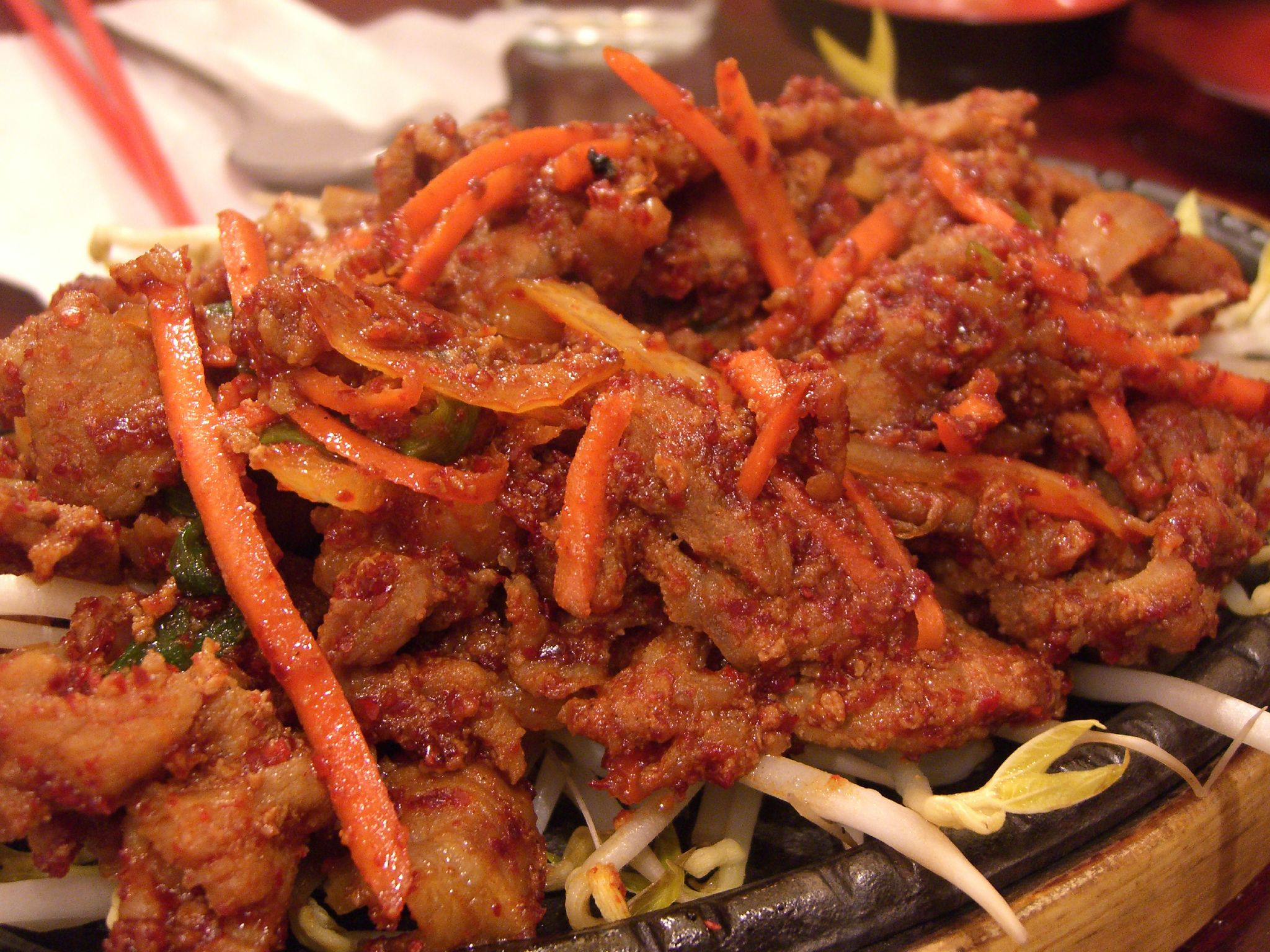 File:Korean.cuisine-Pork.bulgogi-01.jpg