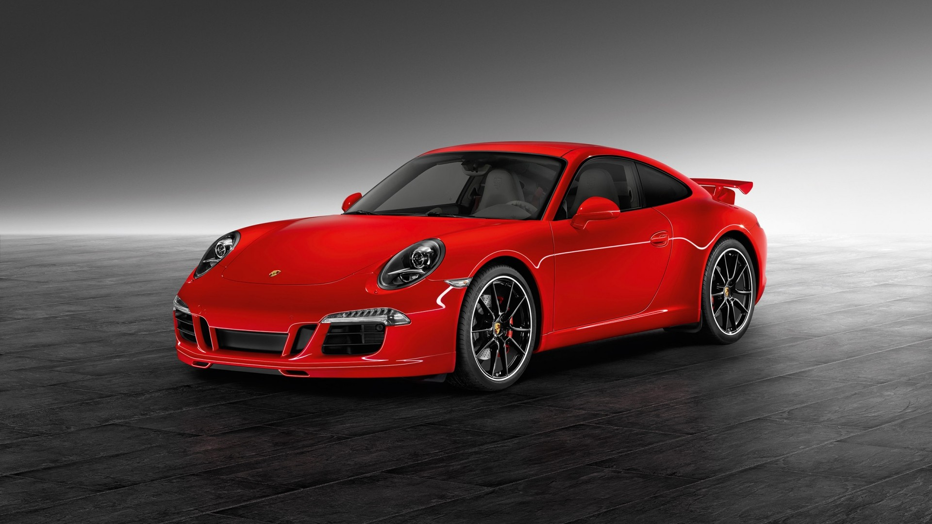 Porsche 911 Turbo Red Car Wheels