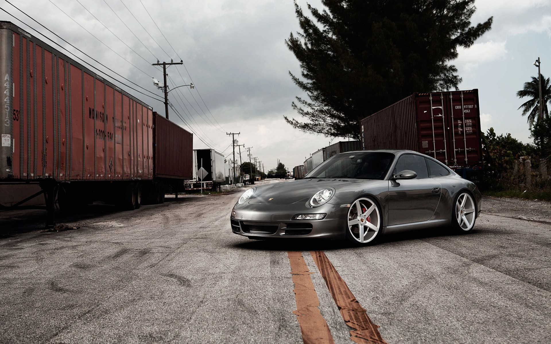 Porsche 911 Vossen Wheels