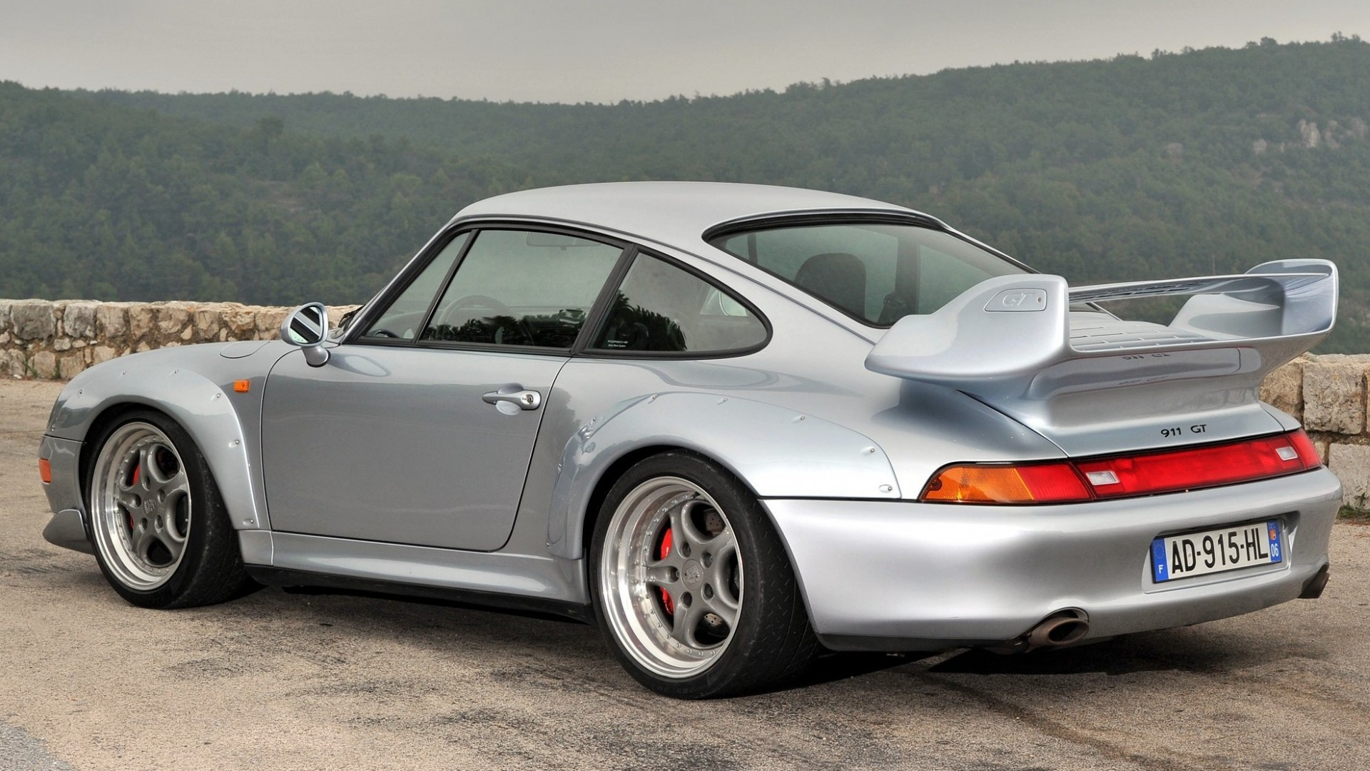 Porsche cars 911 gt2 993 wallpaper