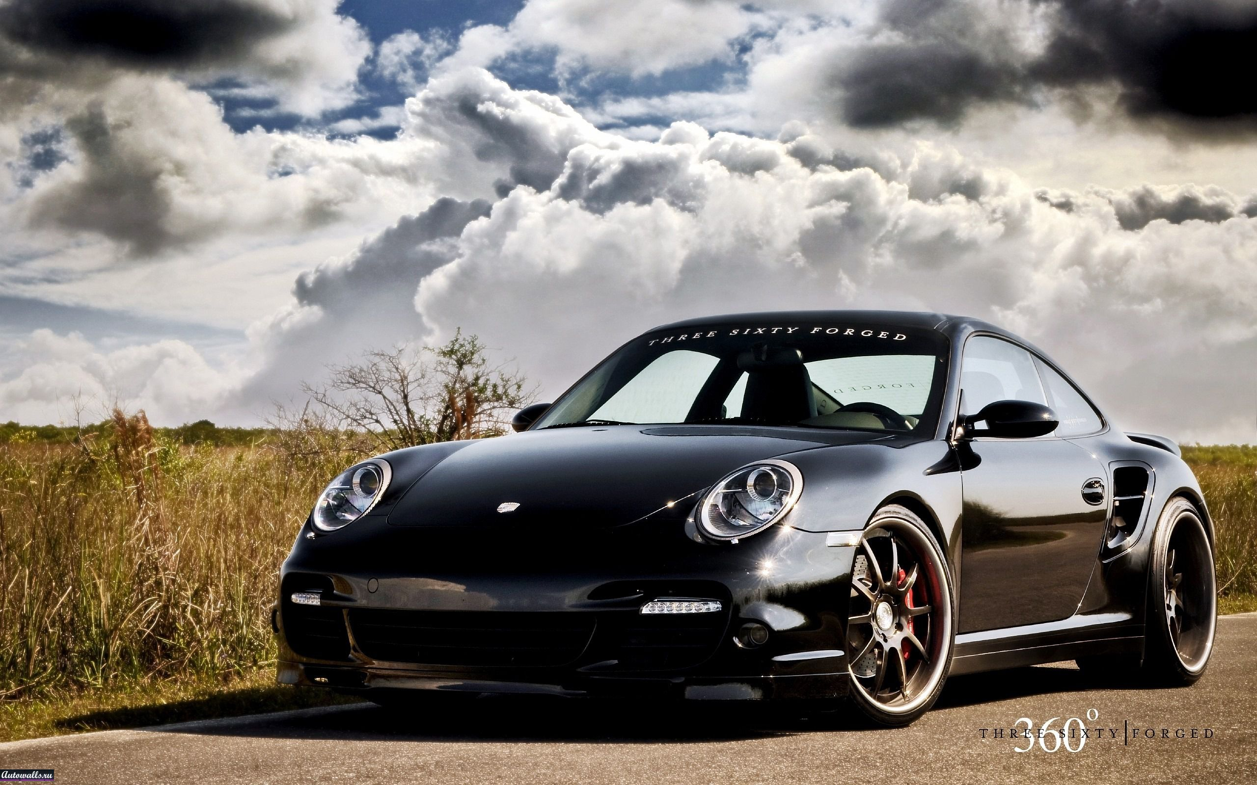 Porsche 997 tt forged wheels