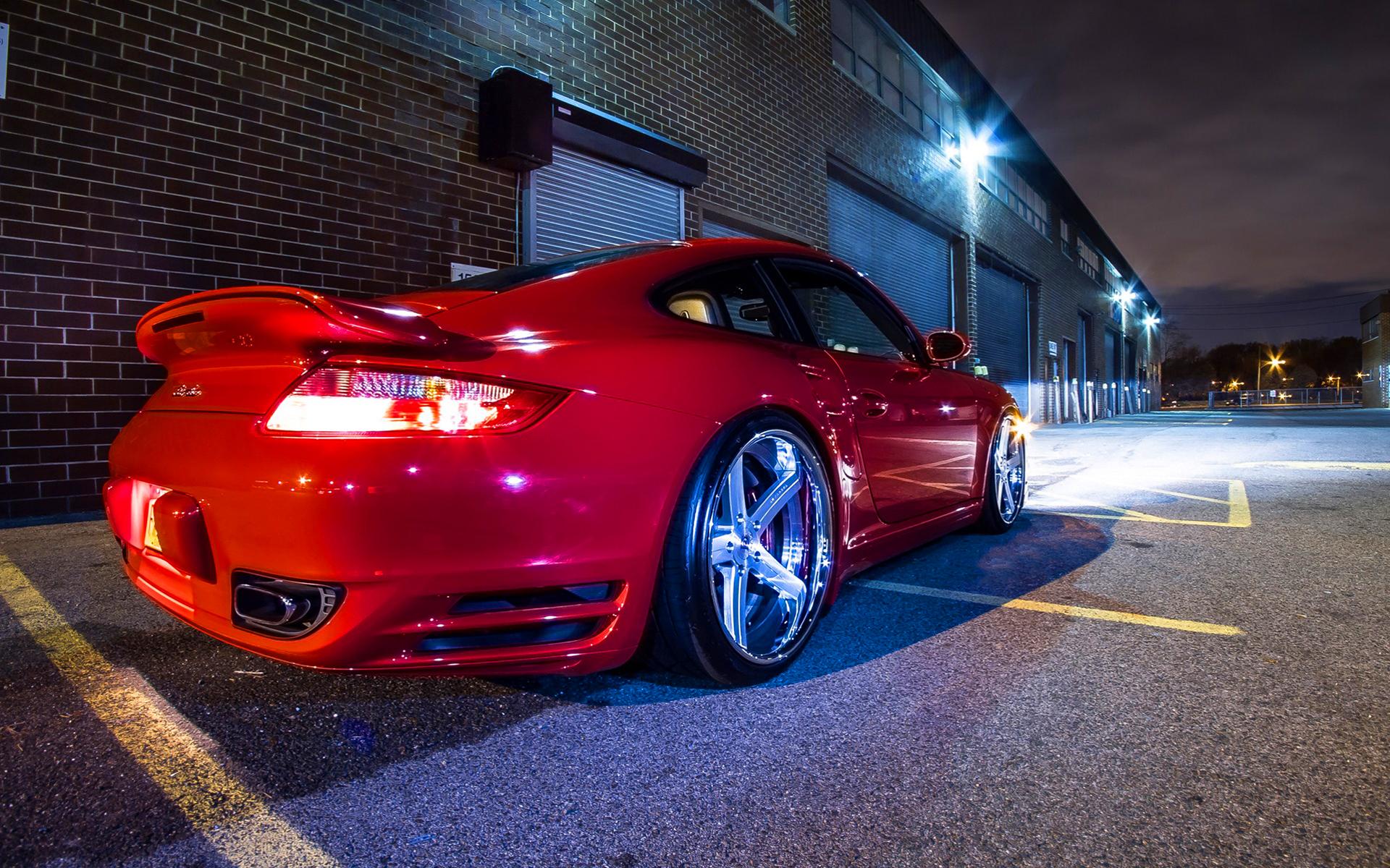 Porsche 997tt forged