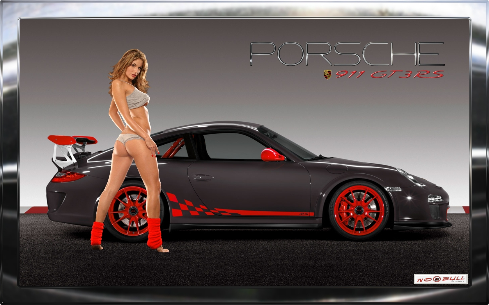 Porsche GT3 RS Wallpaper by no-bull