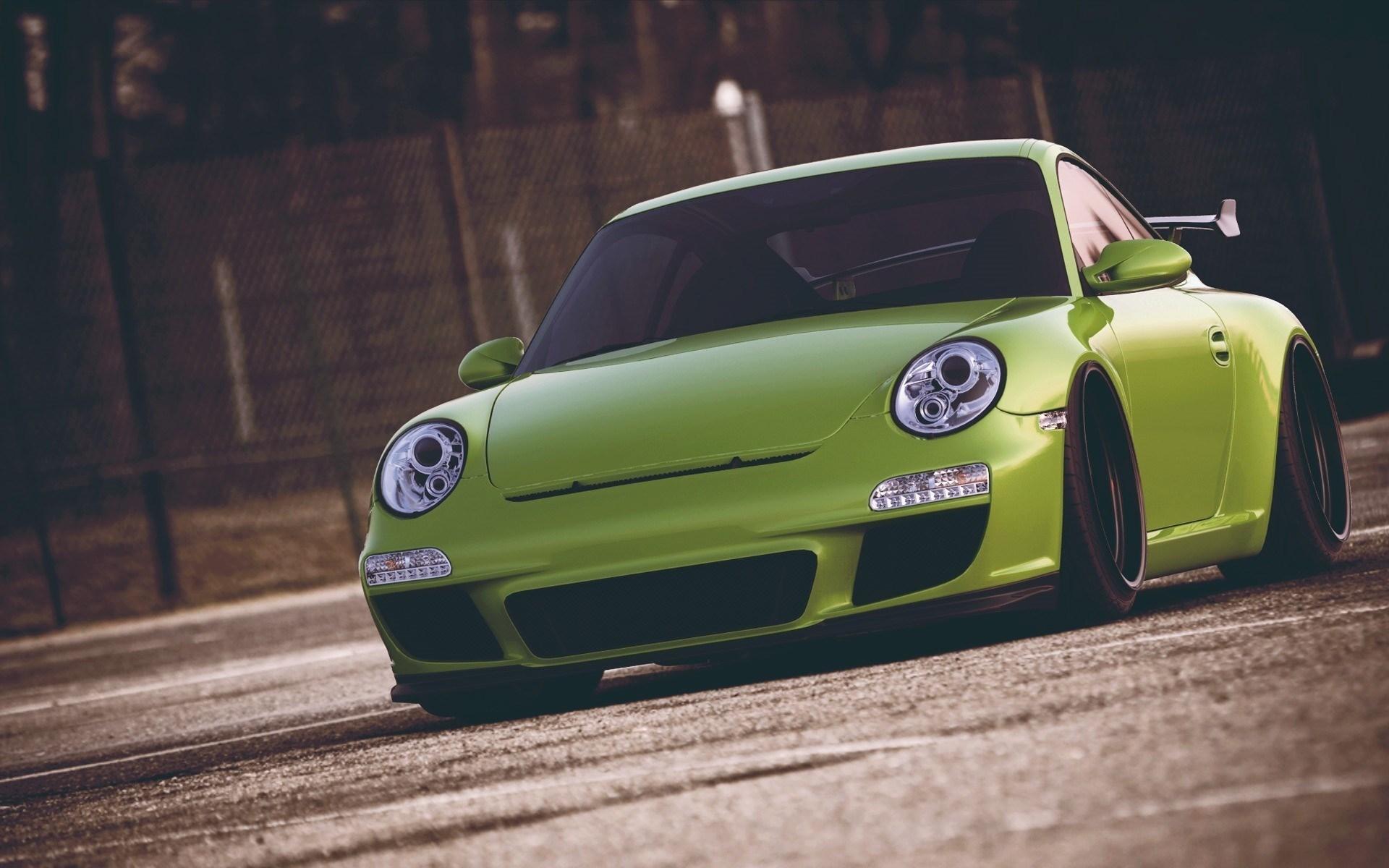 Porsche GT3 Lime