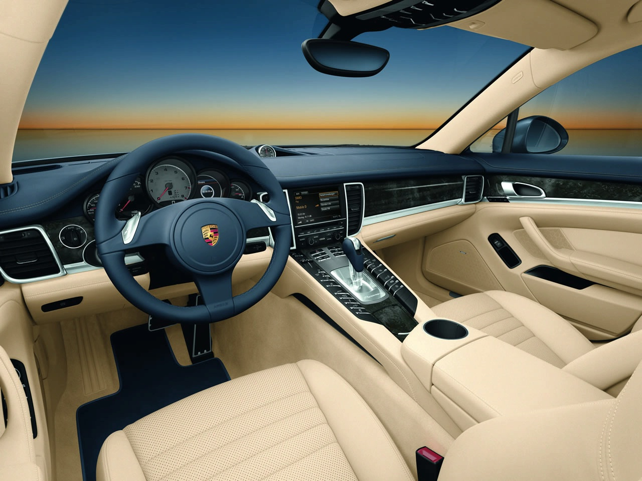 porsche panamera interior turbo 4s wallpaper pictures