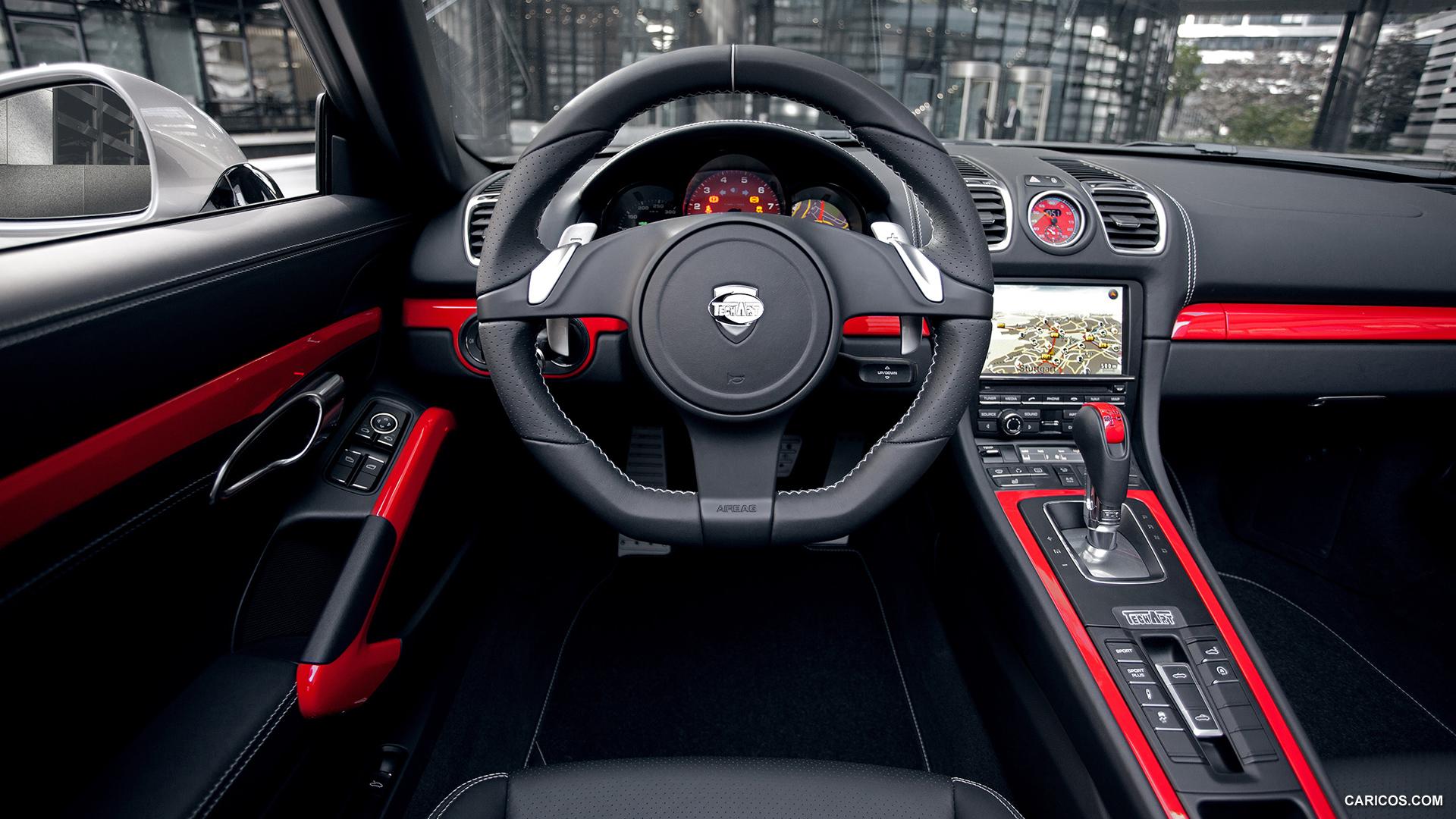 2013 TECHART Porsche 981 Boxster - Interior Wallpaper
