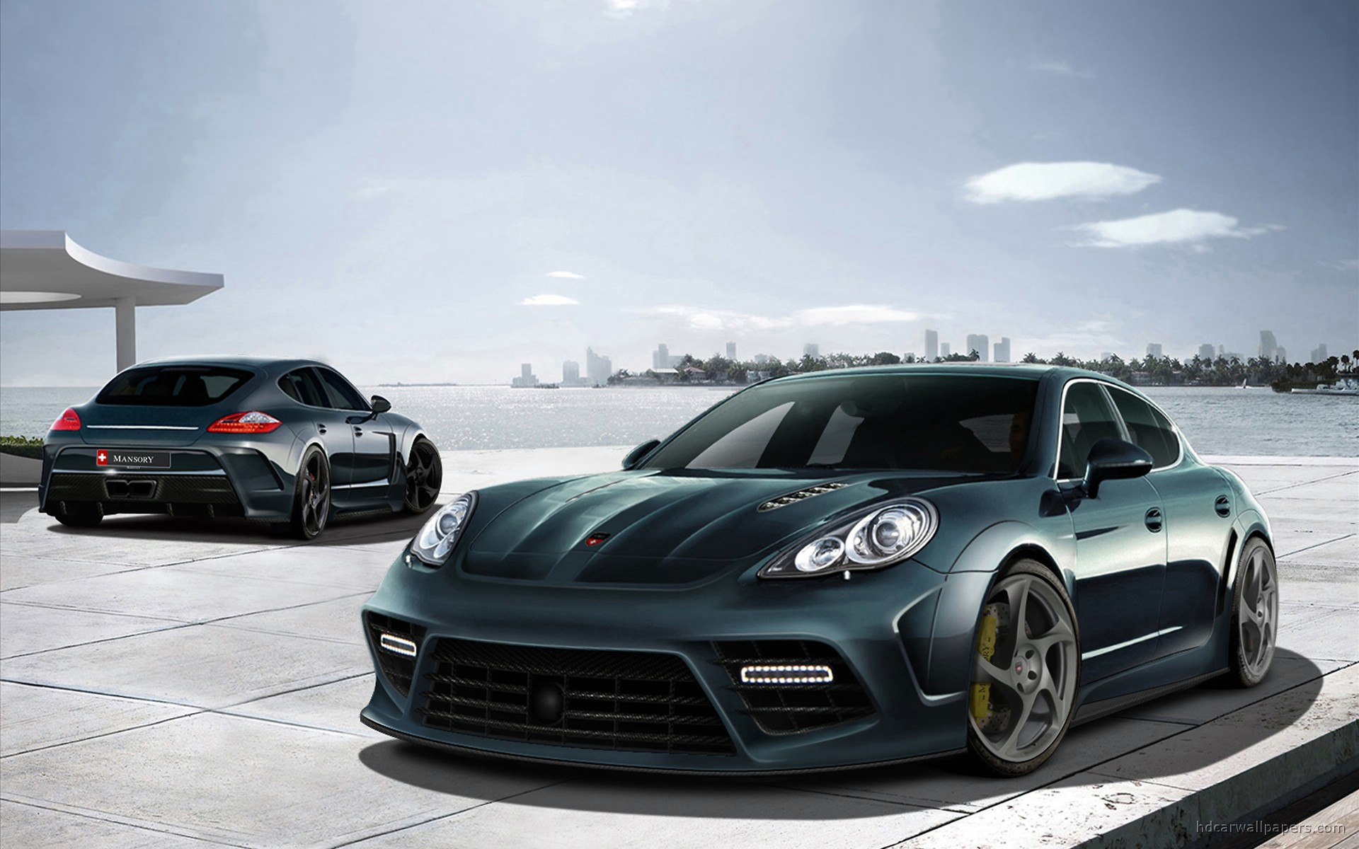 Porsche Panamera Background