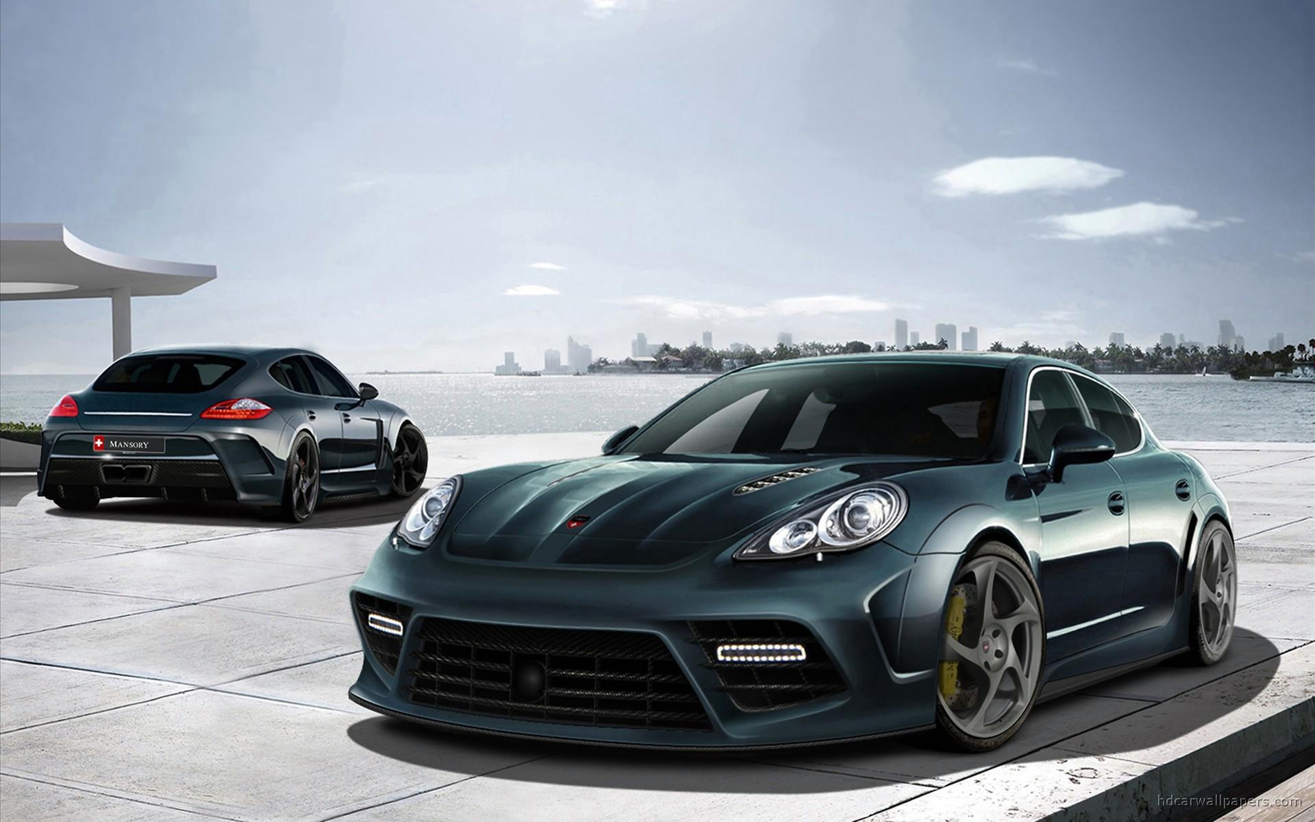 Porsche Panamera Wallpaper