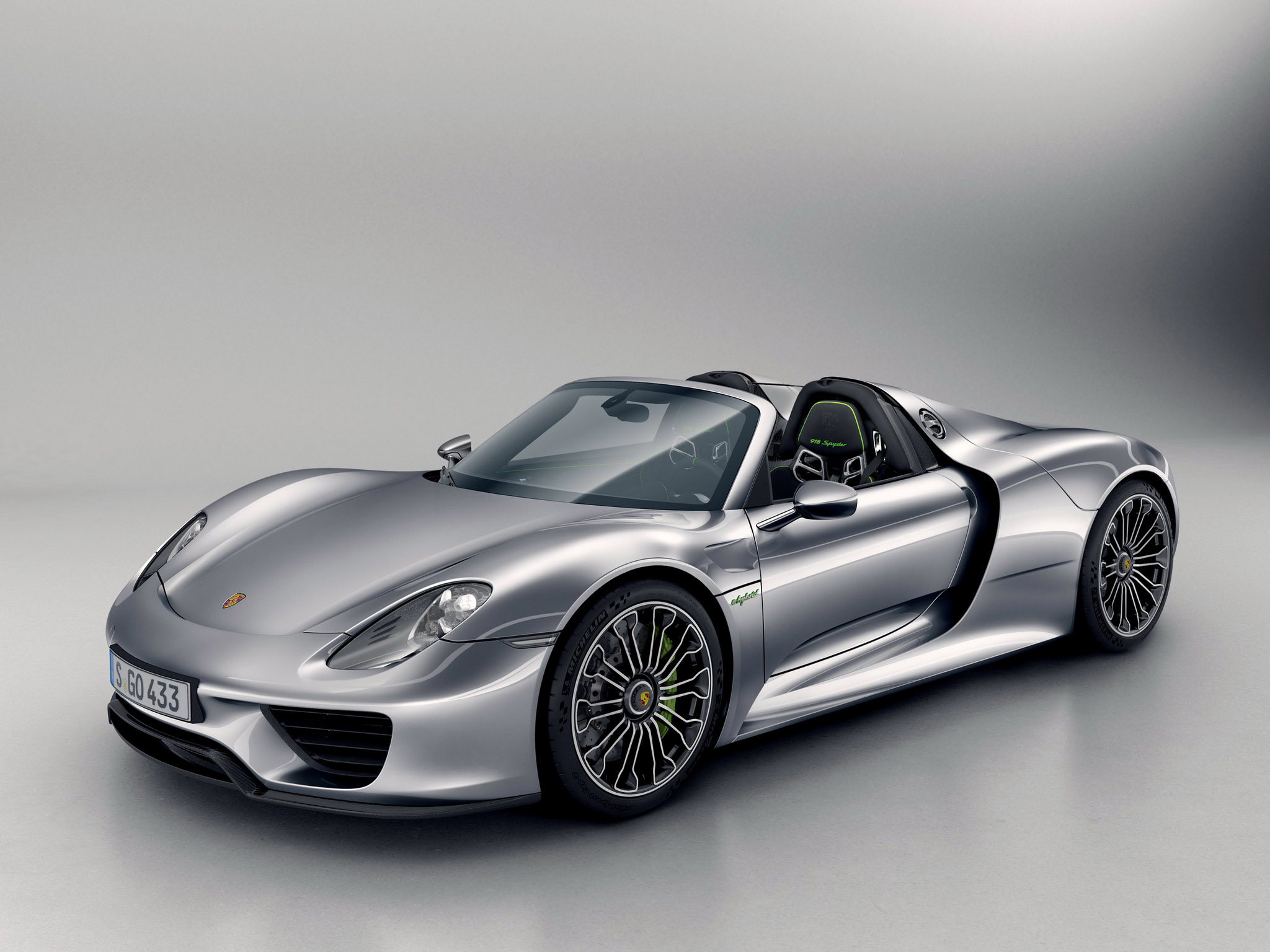 2014 Porsche 918 Spyder supercar h wallpaper background