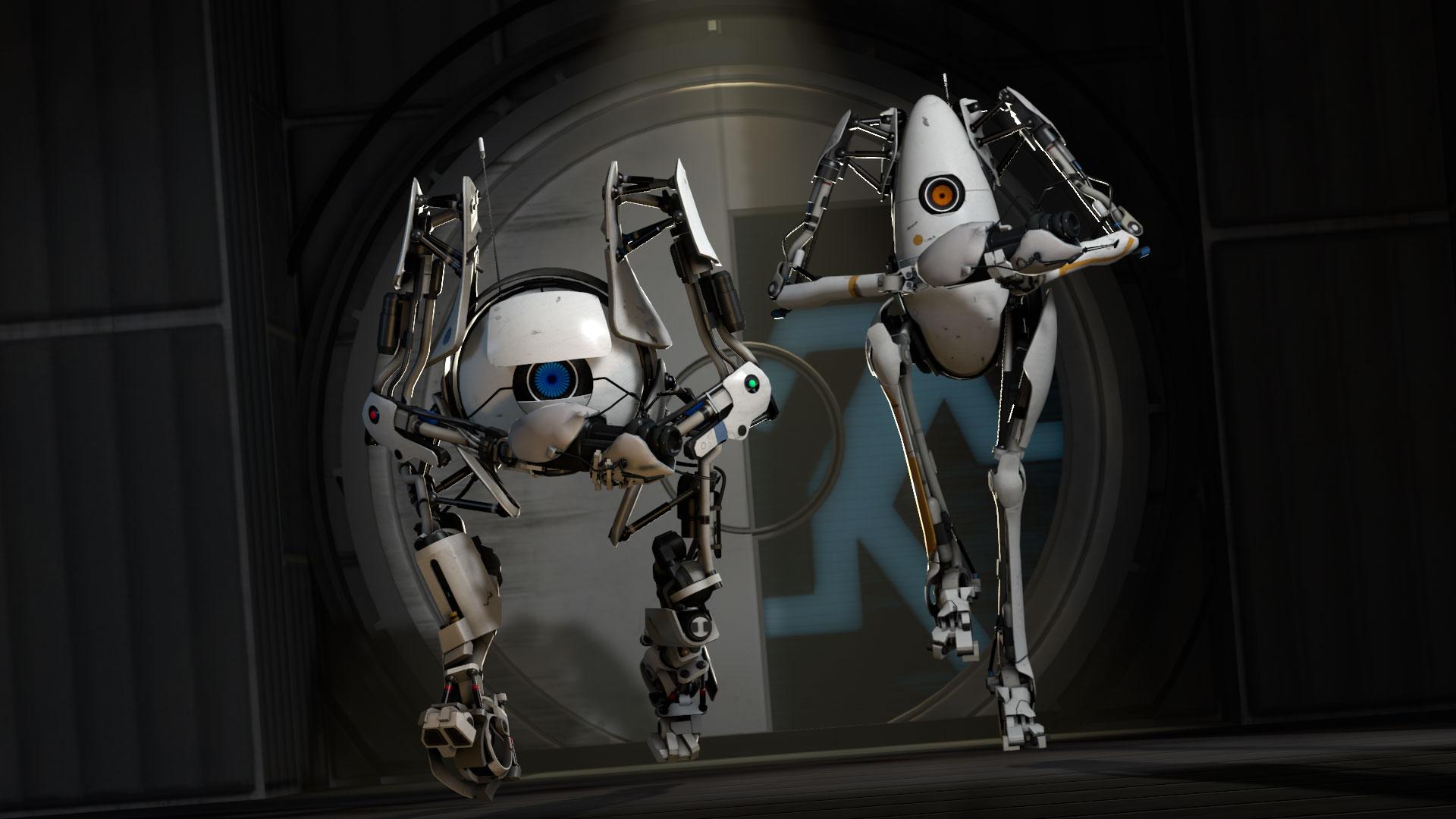 ... Portal 2 Background ...