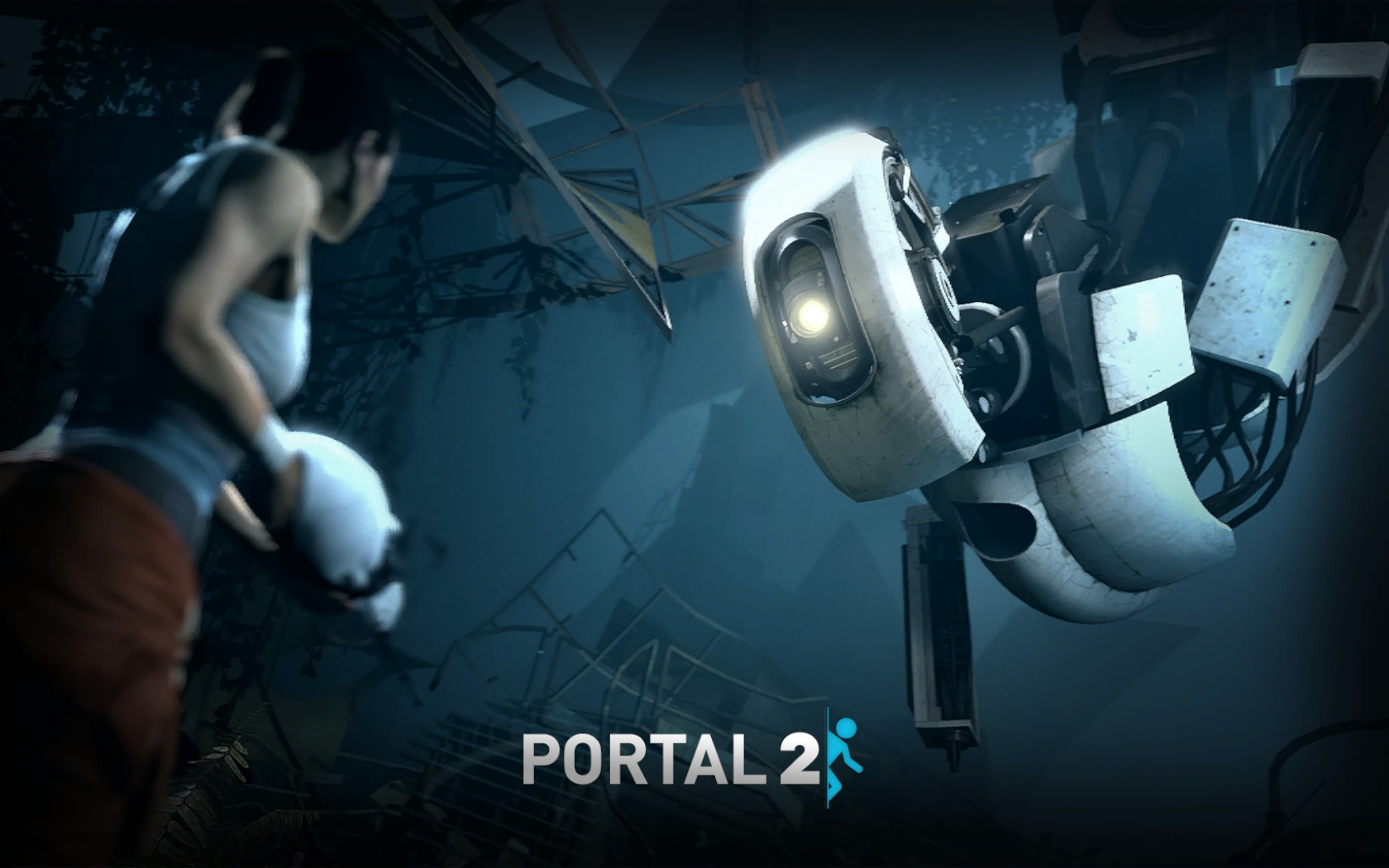 Media RSS Feed Report media Portal 2 Wallpapers ...