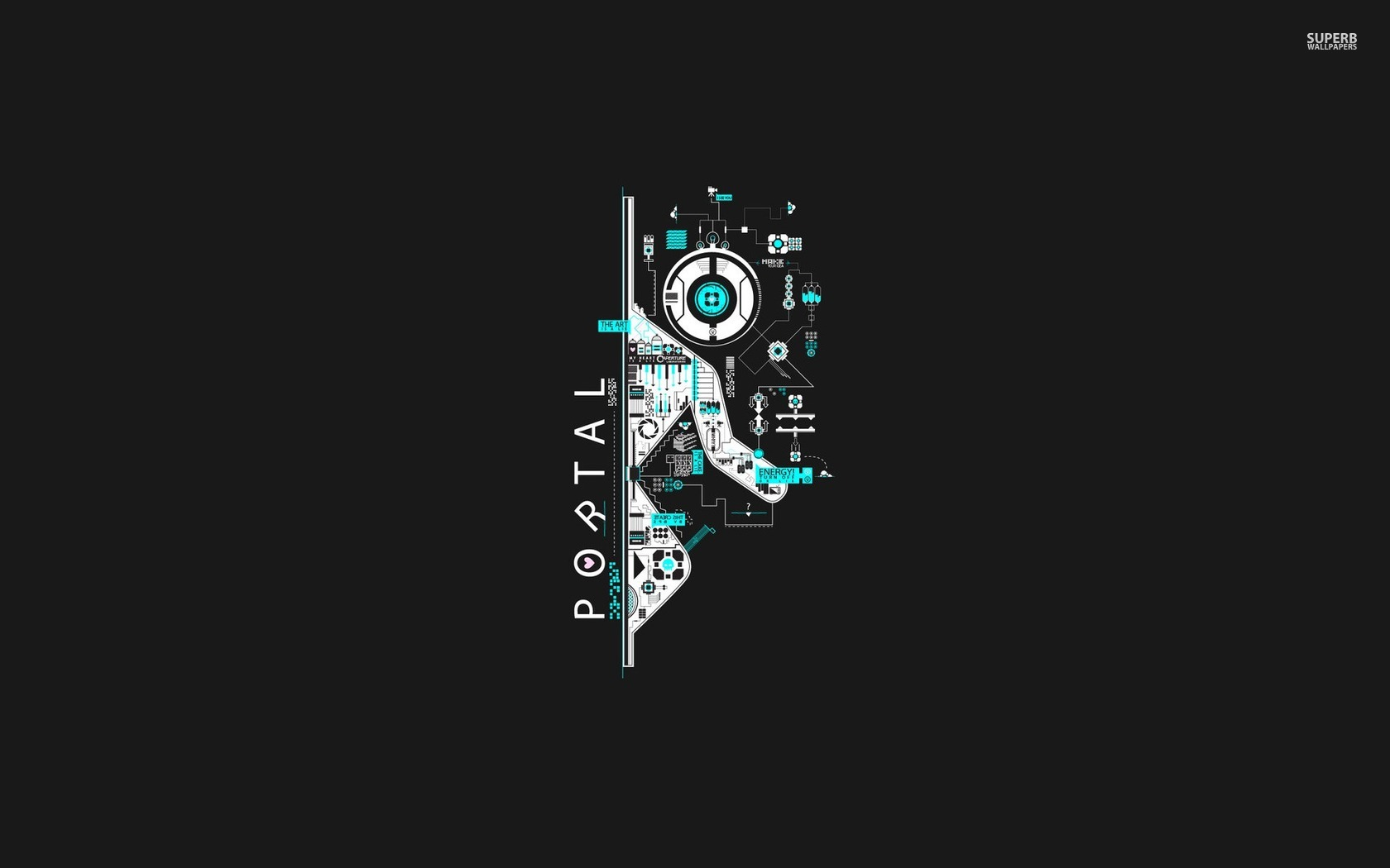 Portal HD Wallpaper