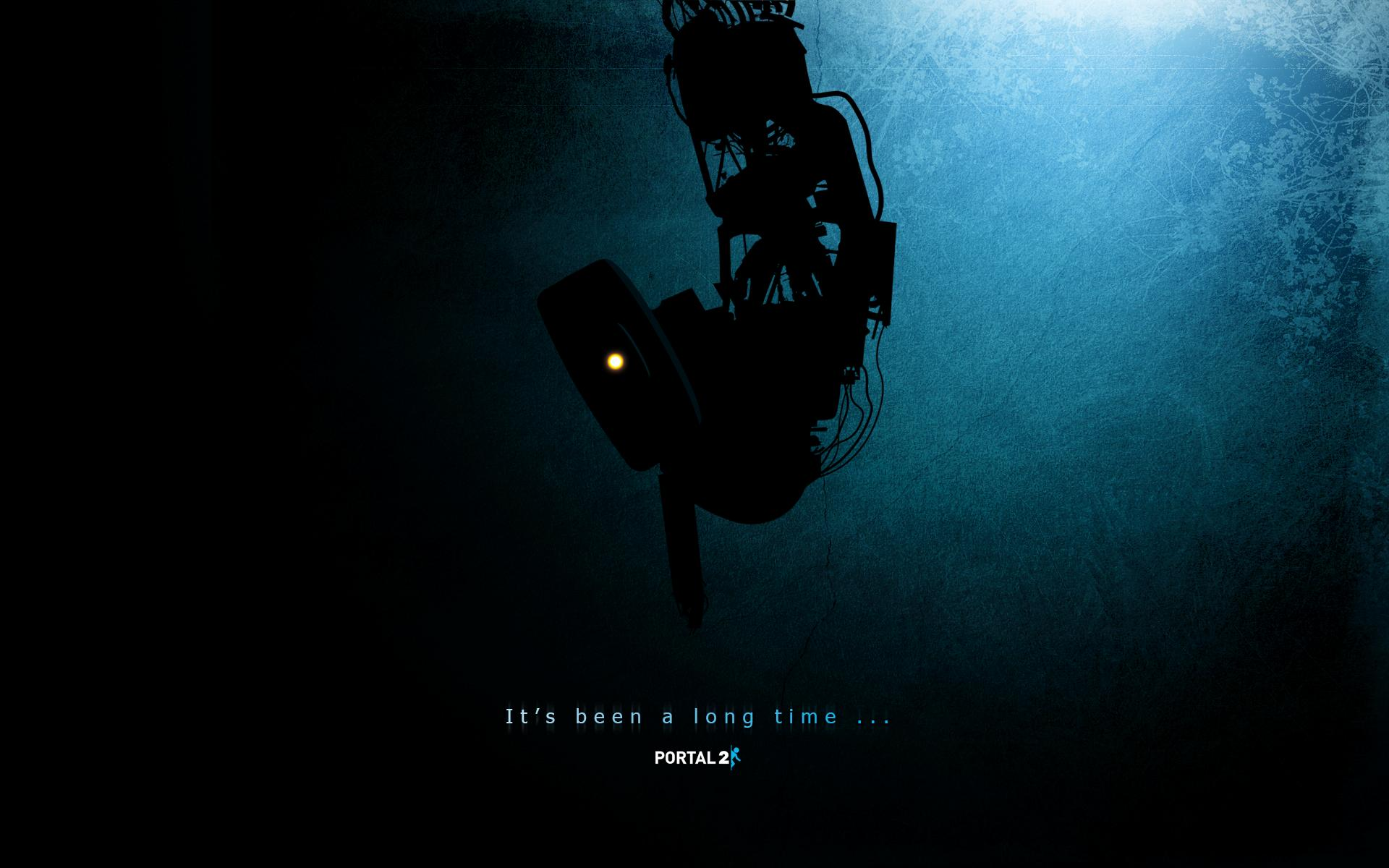 Its been a long time Portal 2 Wallpaper HD