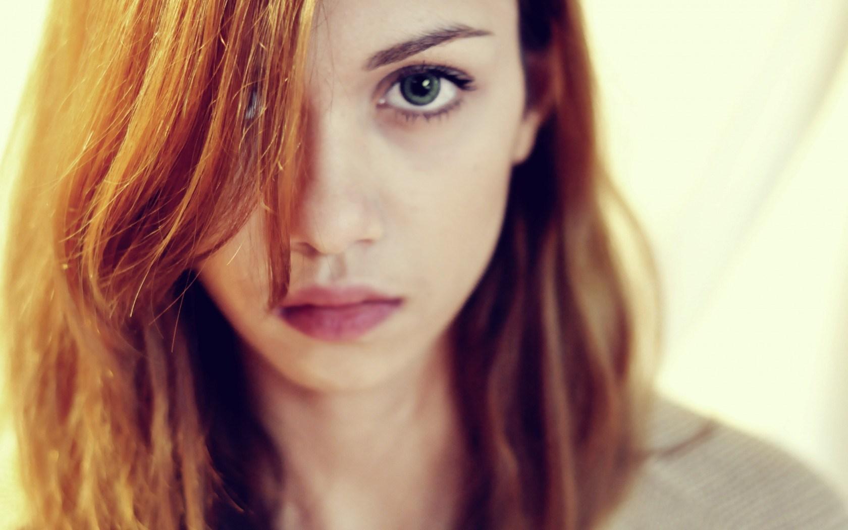 Girl Look Close-Up Portrait