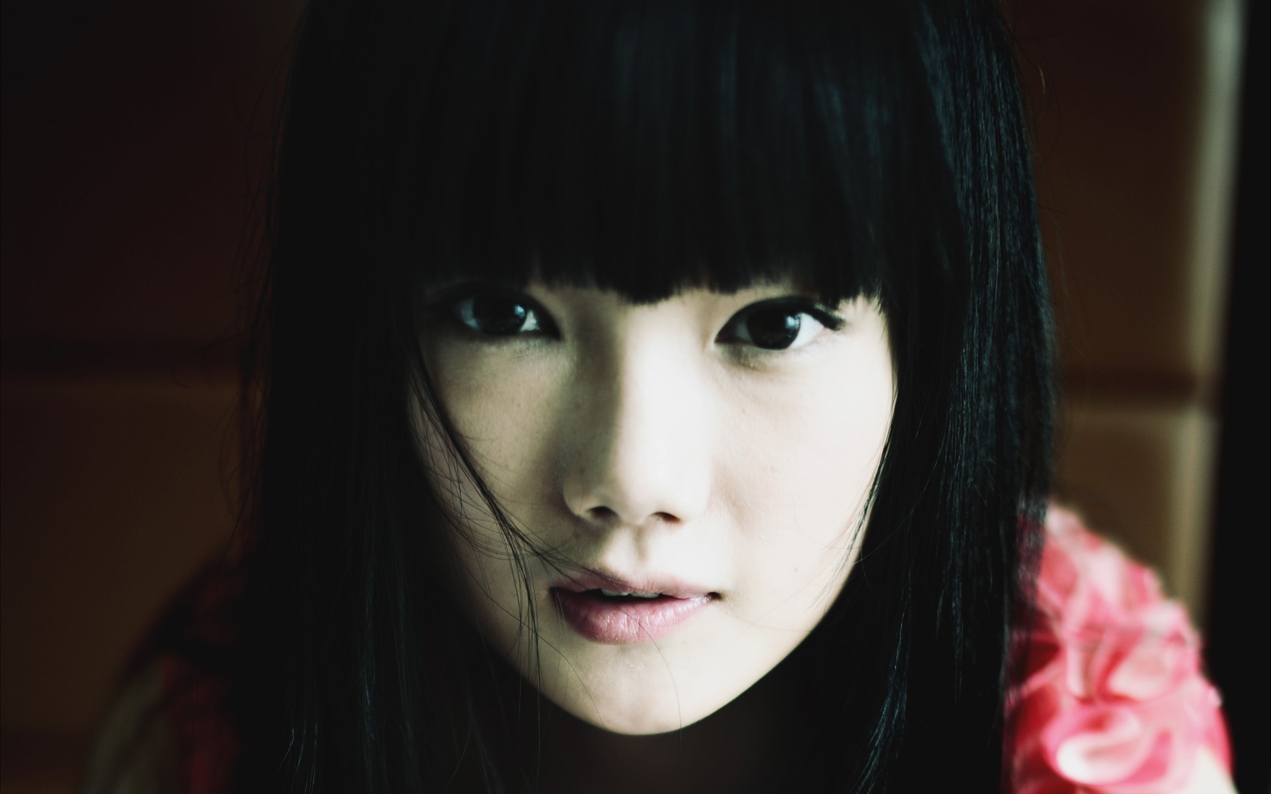 Girl Asian Portrait Brunette
